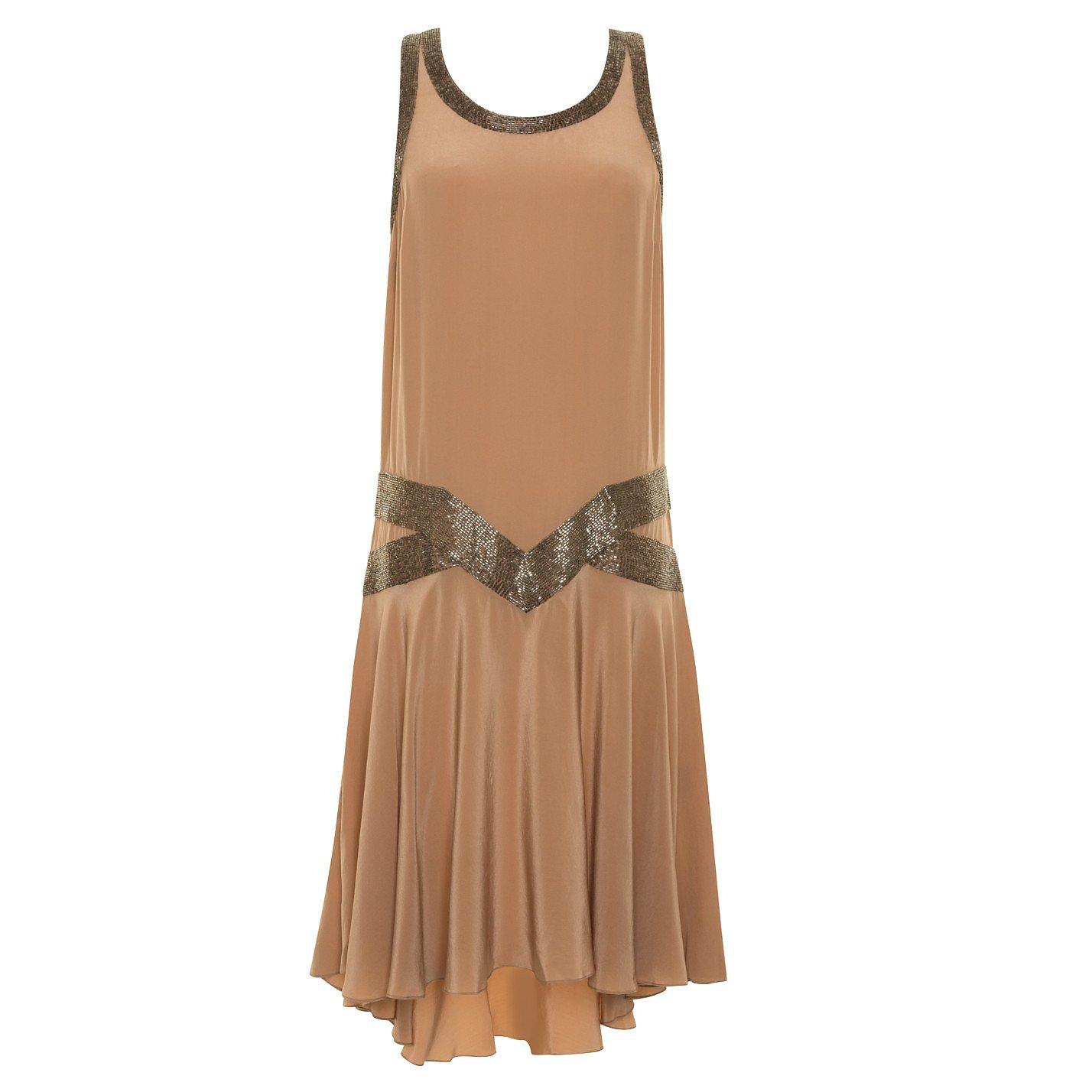 Joseph Bead-Embellished Sleeveless Dress
