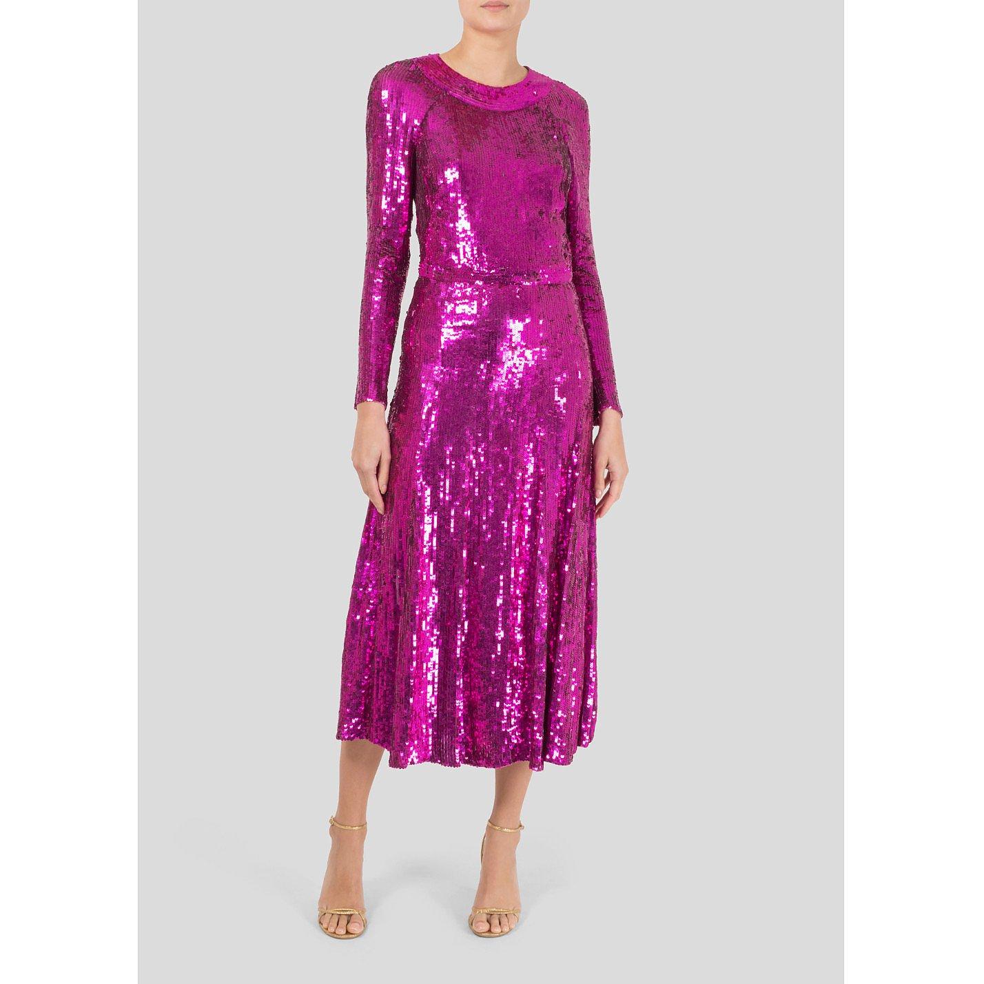 Temperley London Ray Sequin Dress