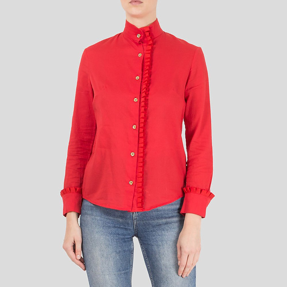 House of Holland Frilled Shirt