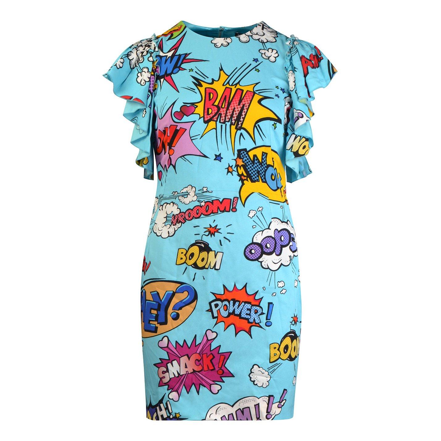 DOLCE & GABBANA Pop Art Mini Dress