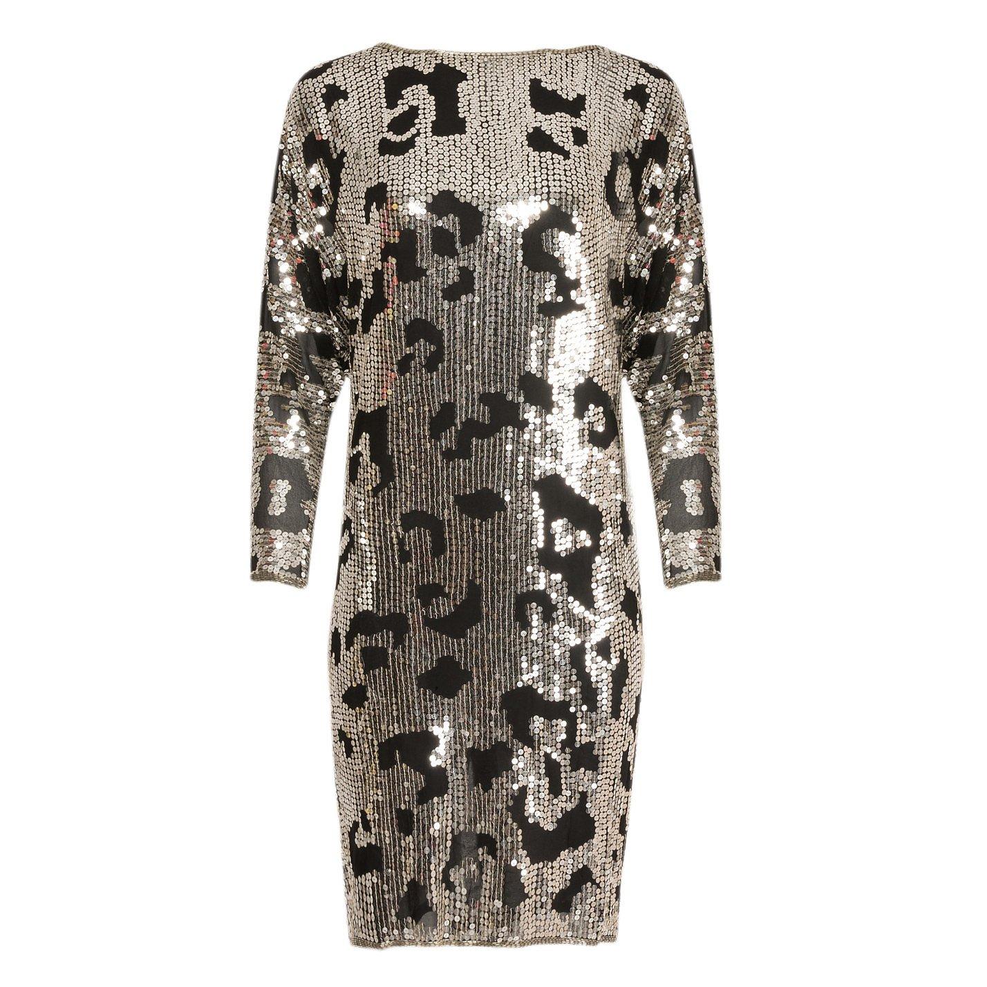 Vintage Couture Sequin Tunic Dress