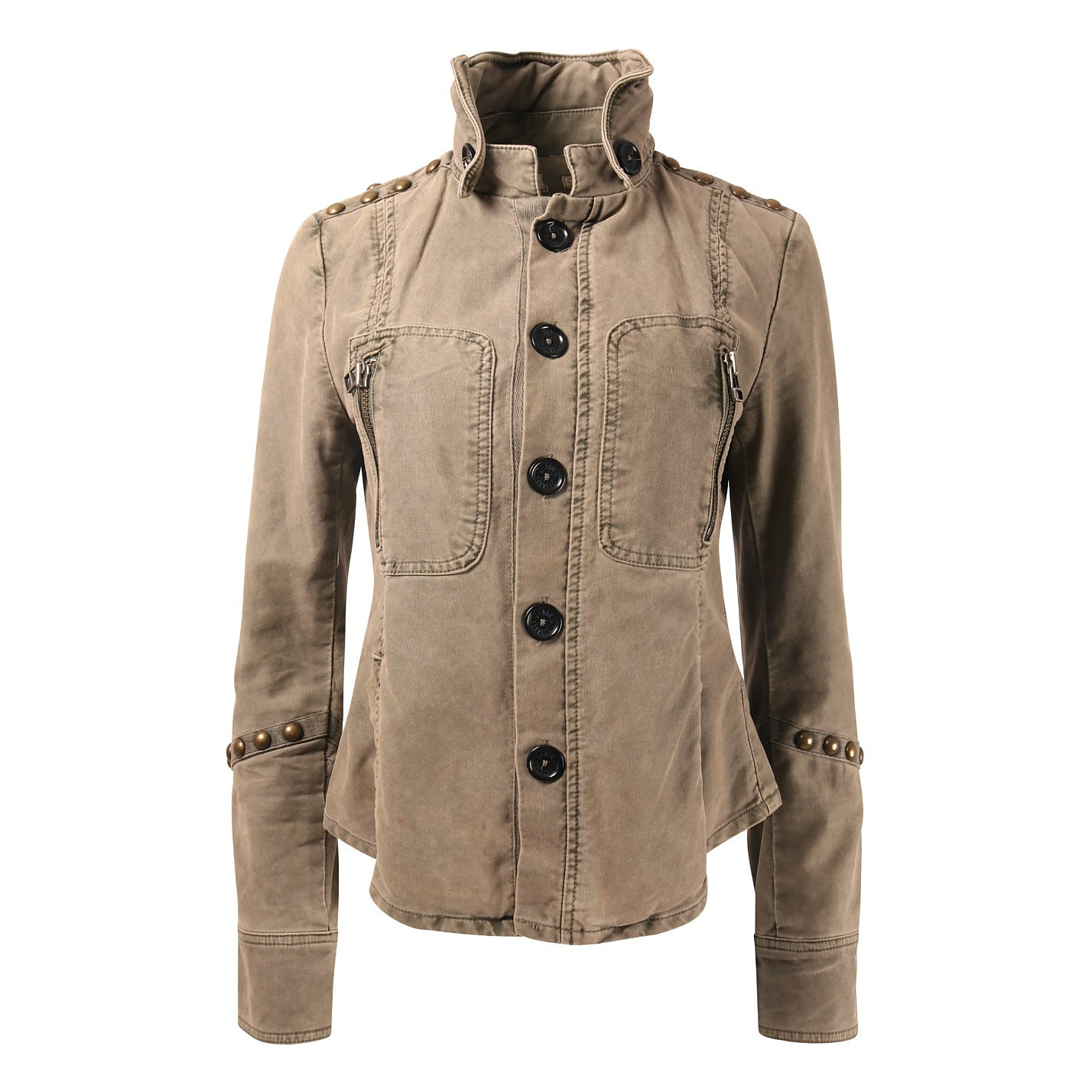 Zadig & Voltaire Studded Denim Jacket