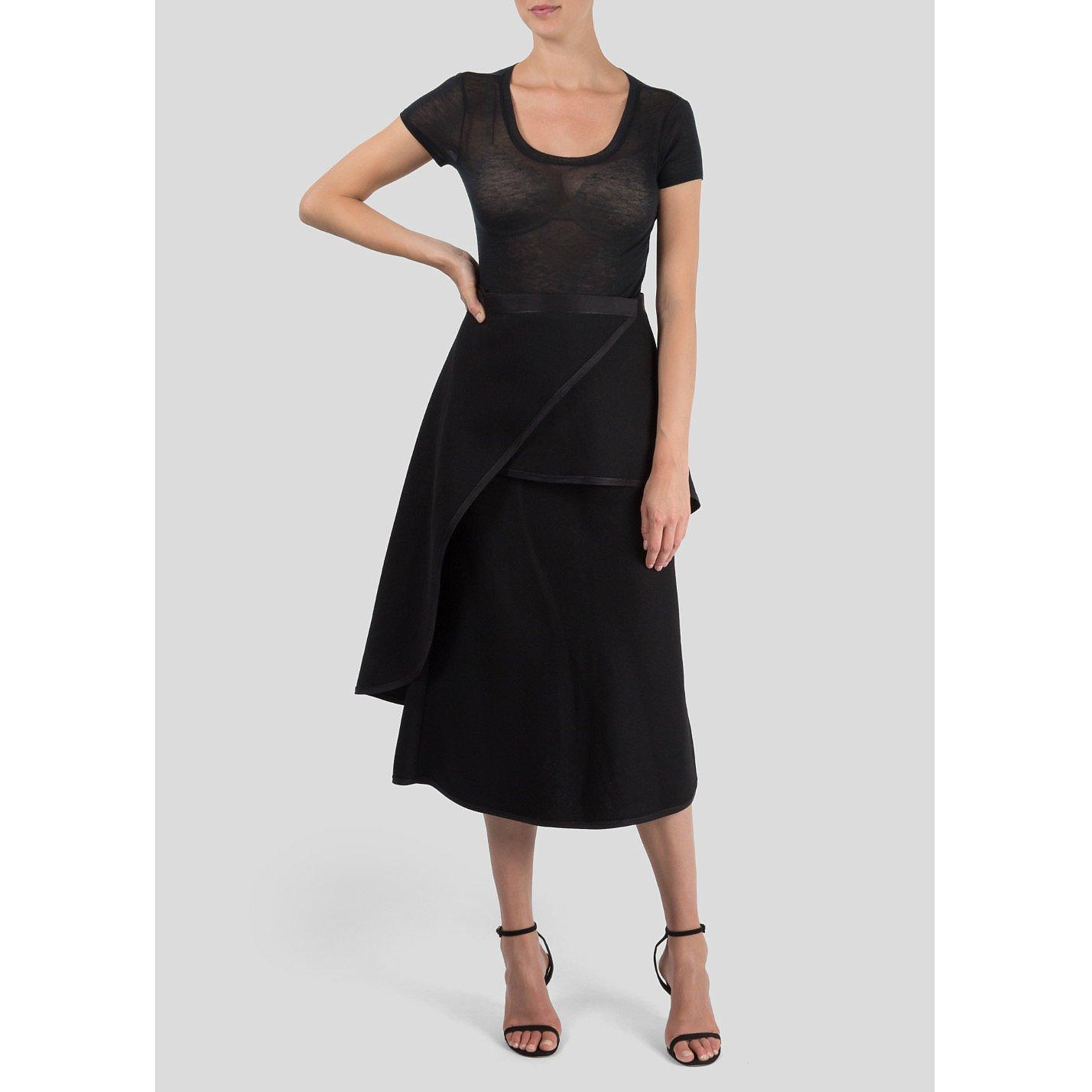 CÉLINE Layered Skirt