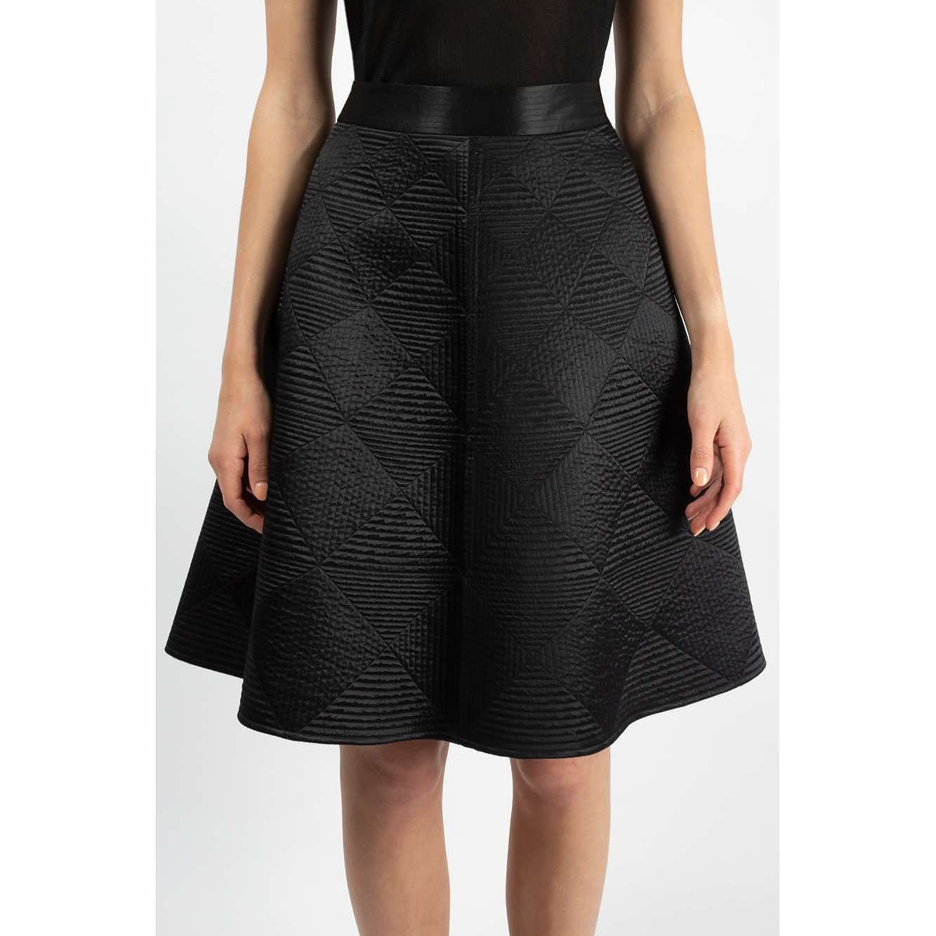 Temperley London Diamond-Patterned A-Line Skirt