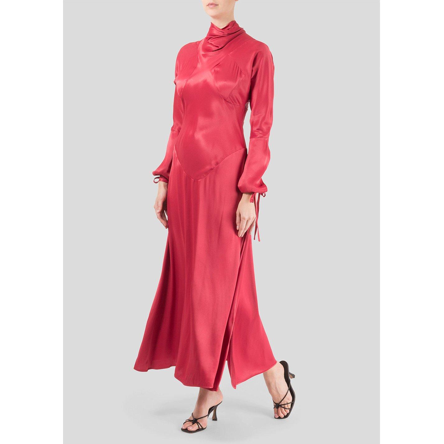Vivienne Westwood Long Polo Neck Dress