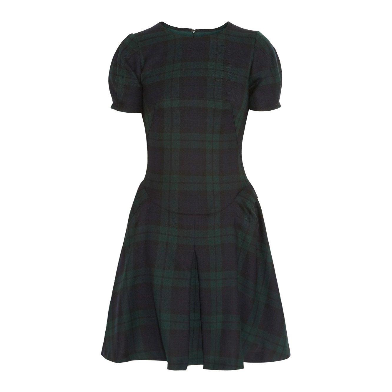 McQ Tartan Wool Dress
