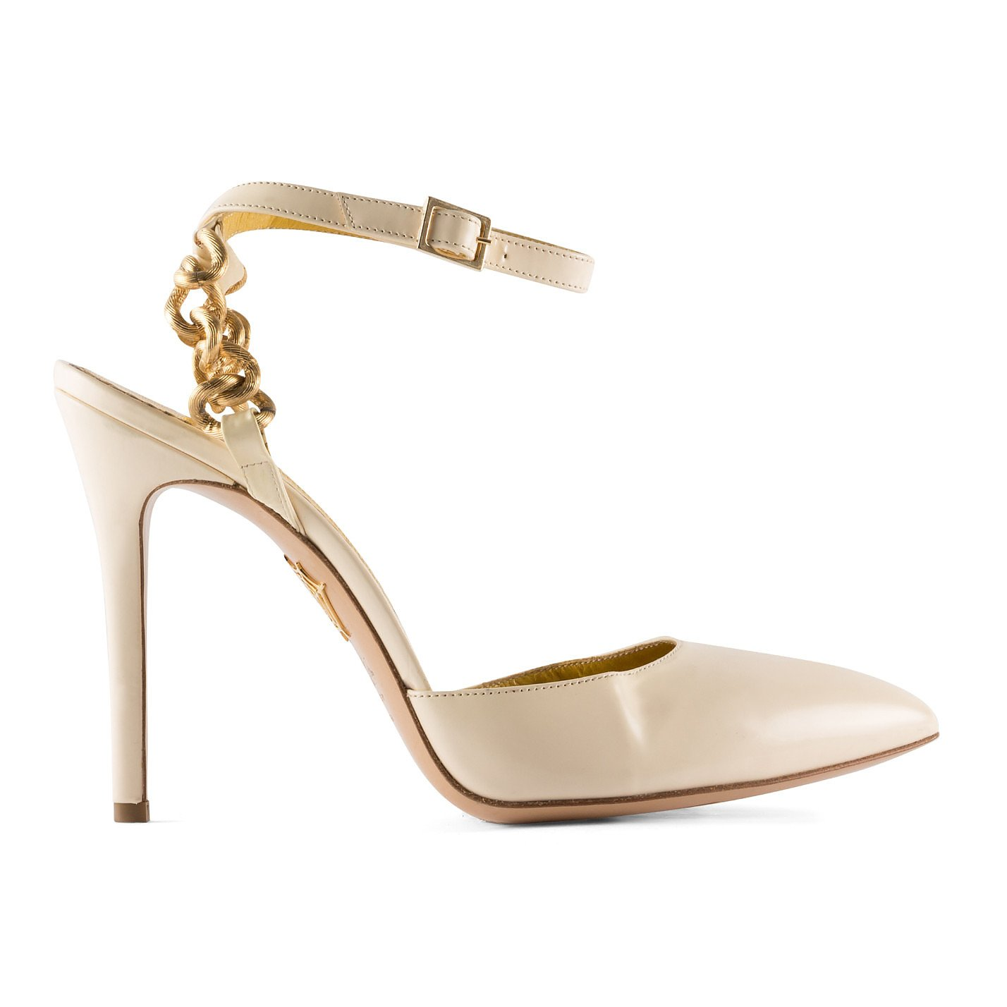 Charlotte Olympia Chain-Detail Pumps