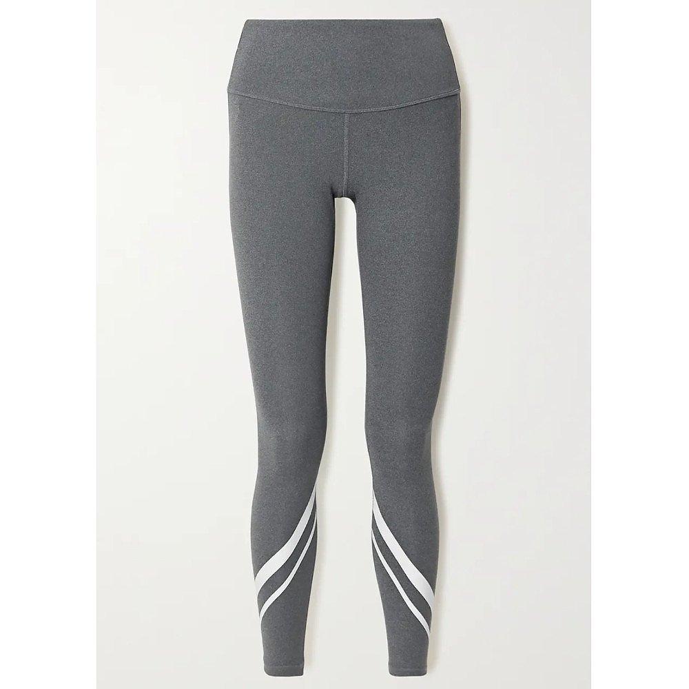 Tory Sport Stripe Stretch Jersey Leggings