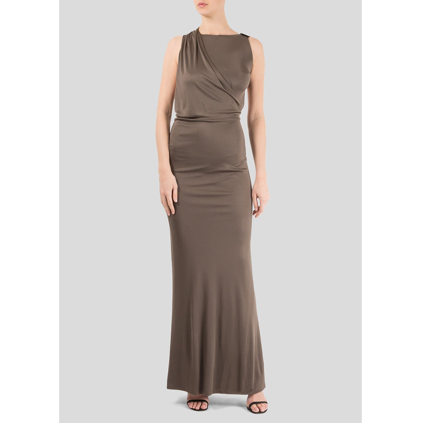 Gucci Clasp Fastening Backless Gown
