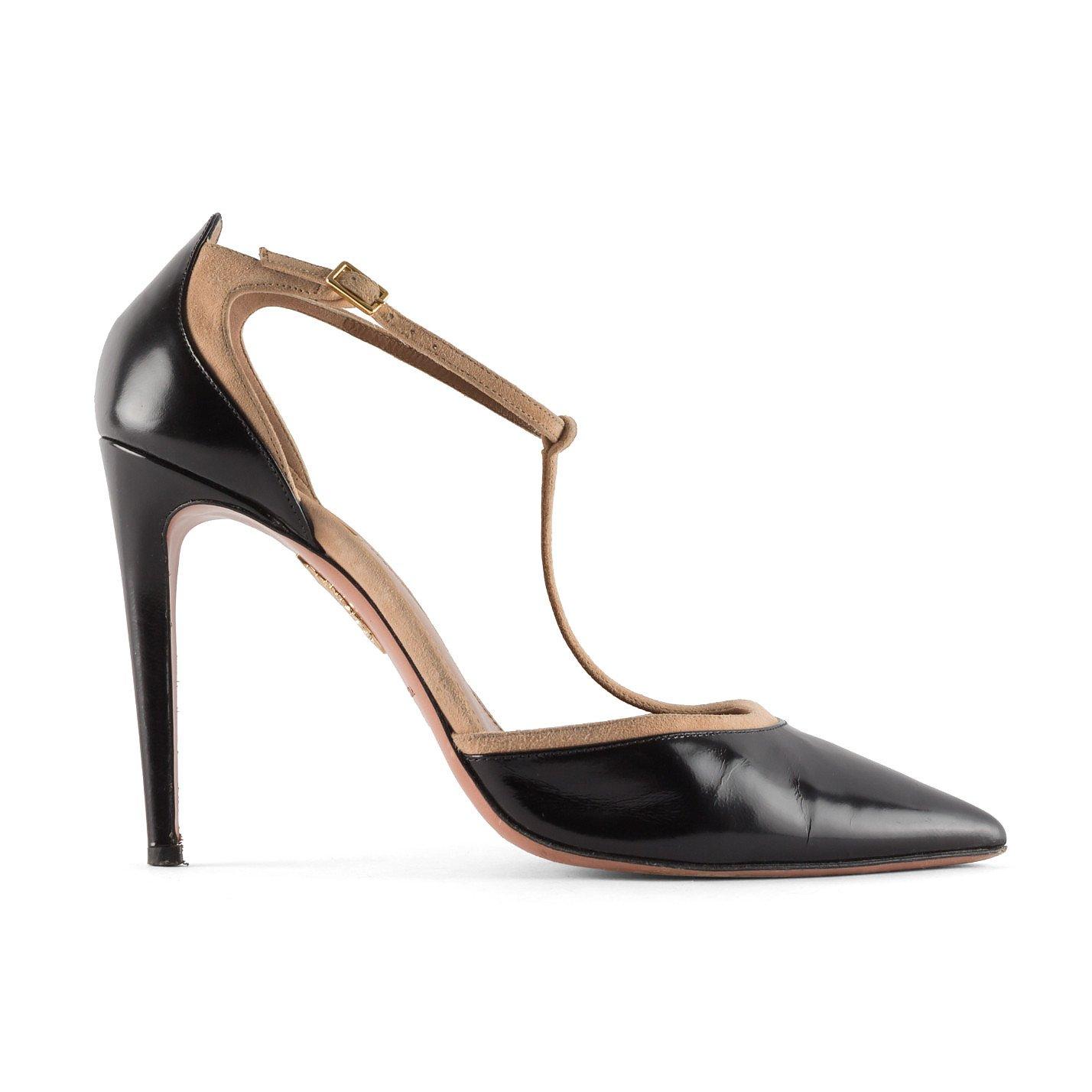 Aquazzura Leather Stiletto Heels
