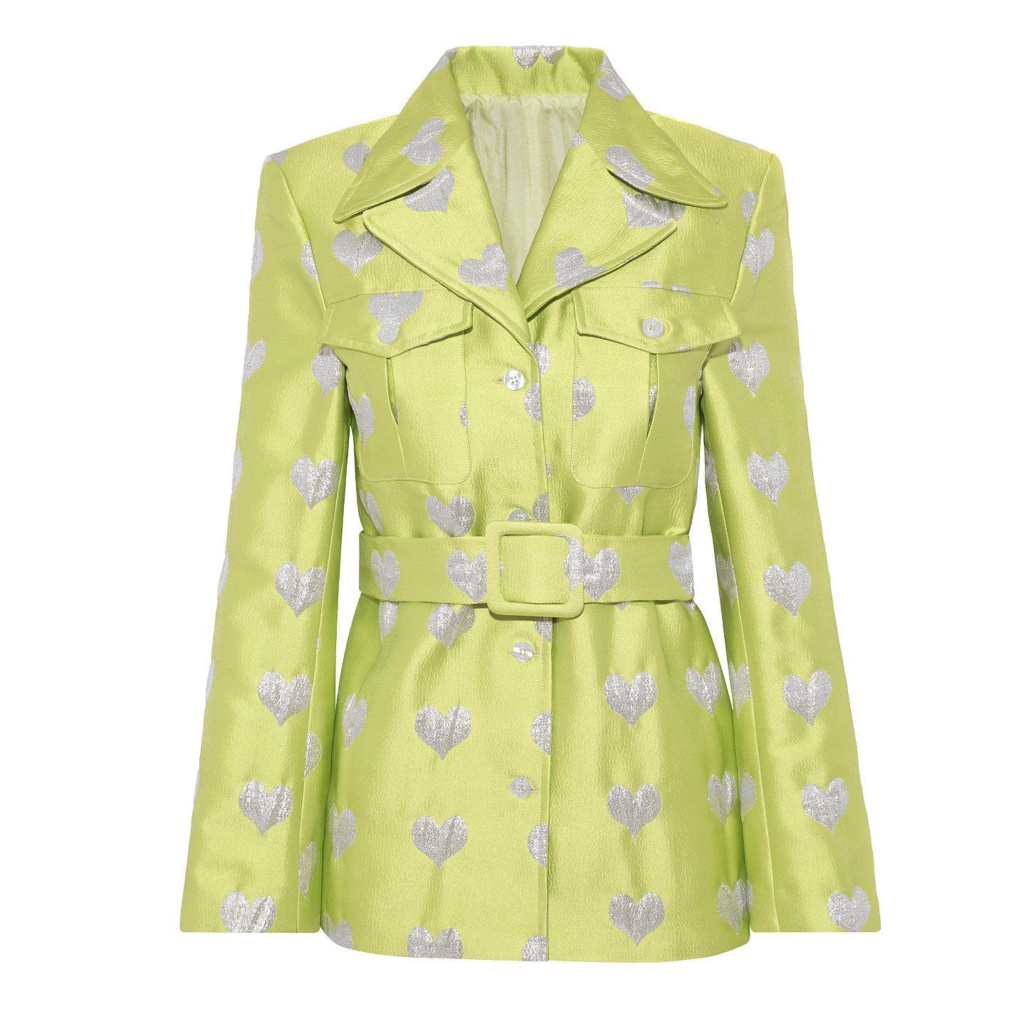Lisou Lucille Heart Jacquard Jacket