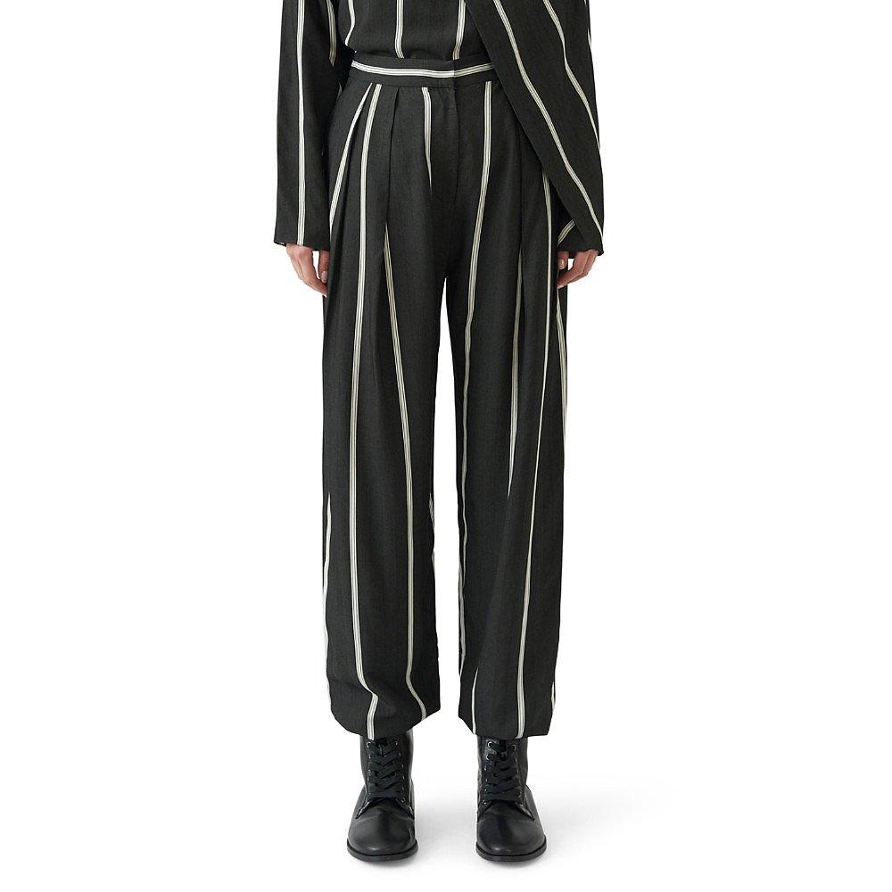 Noon By Noor Lyncoln Herringbone Trousers