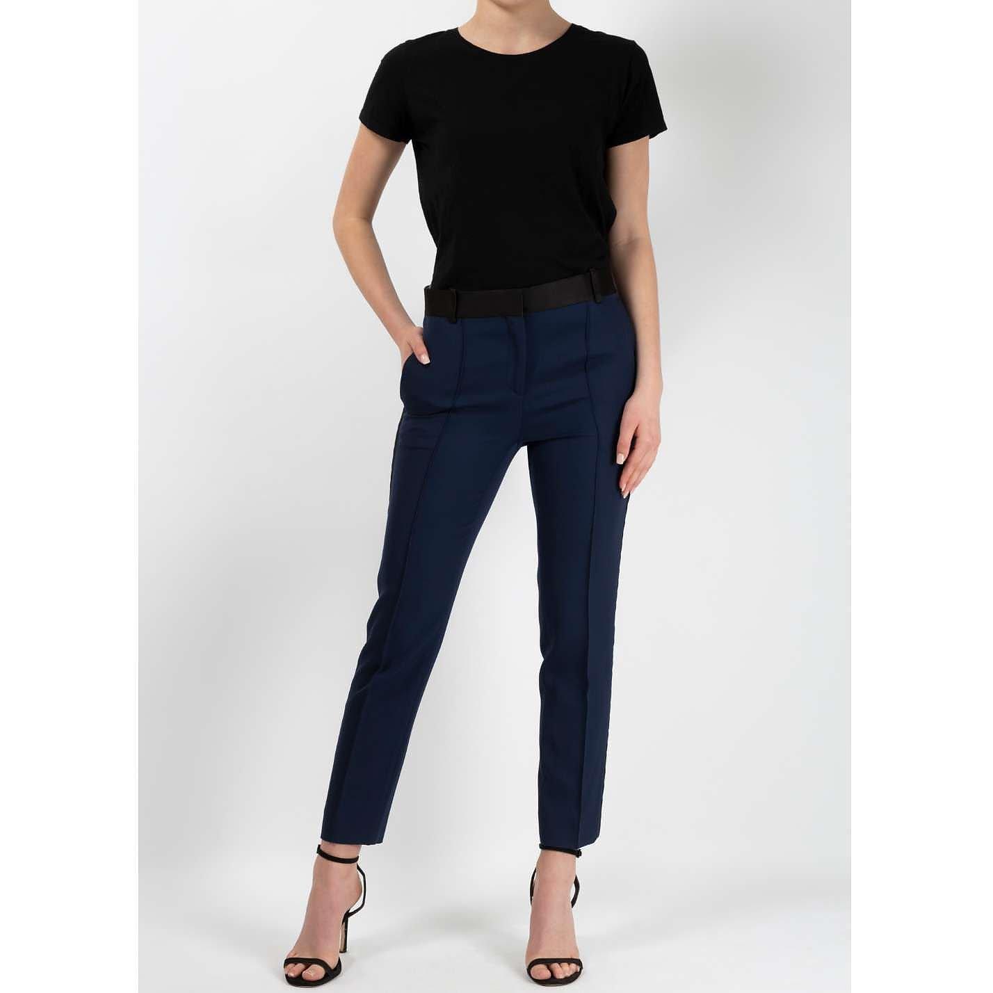 CÉLINE Tuxedo Style Cigarette Pants