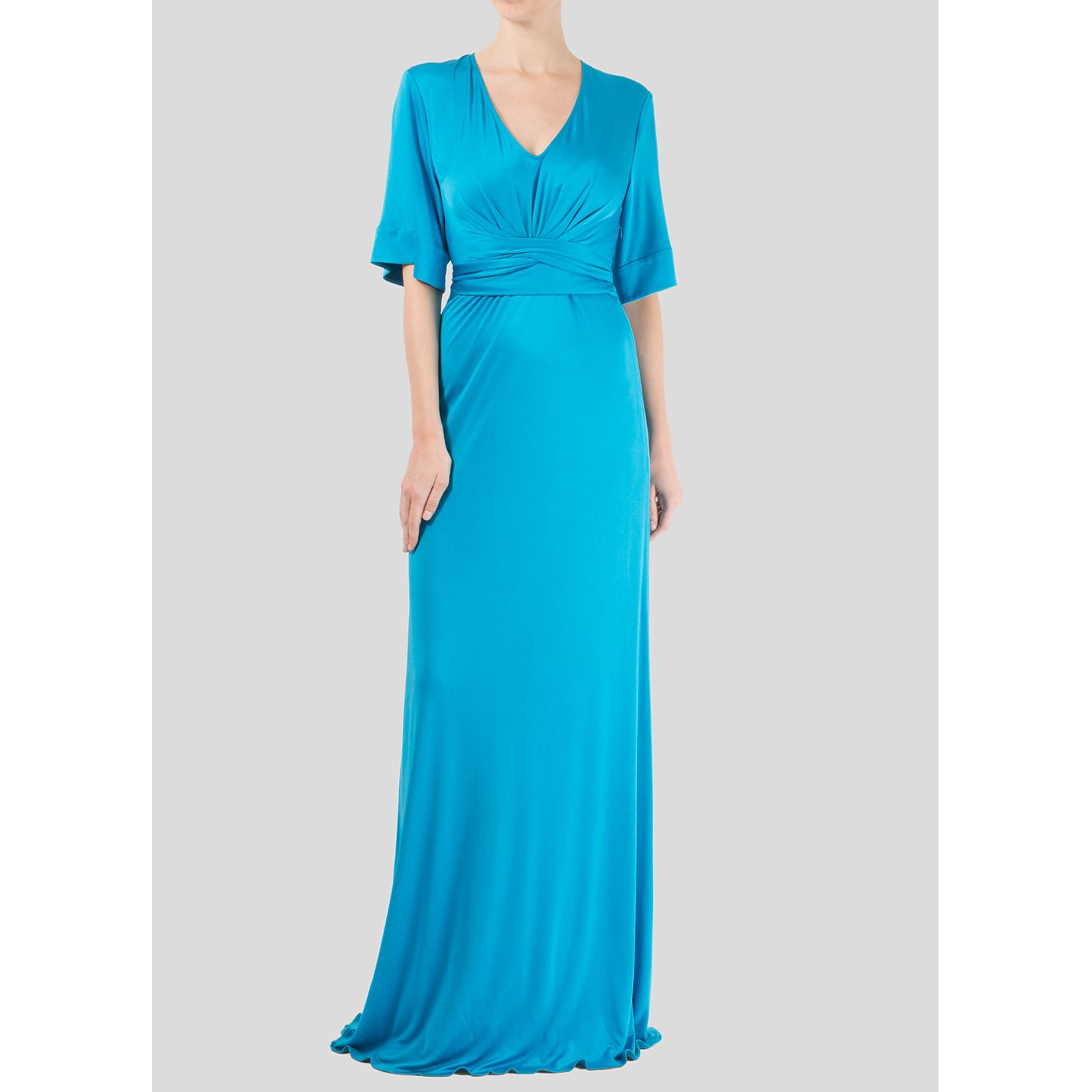 ISSA V-Neck Gown