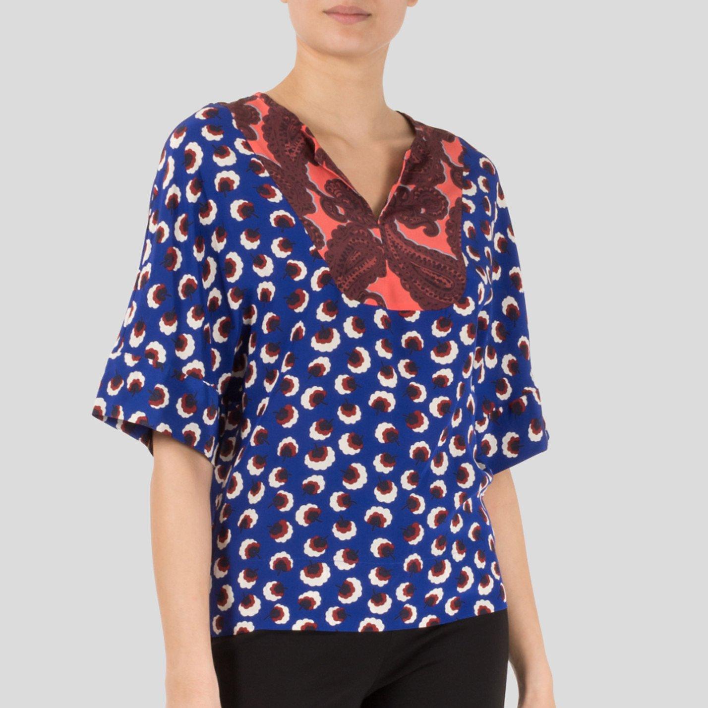 Stella McCartney Printed Silk Top