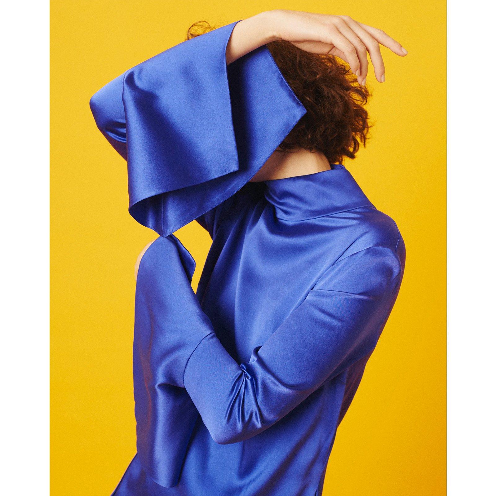 Paper London Rufus Dress Tomboy Blue