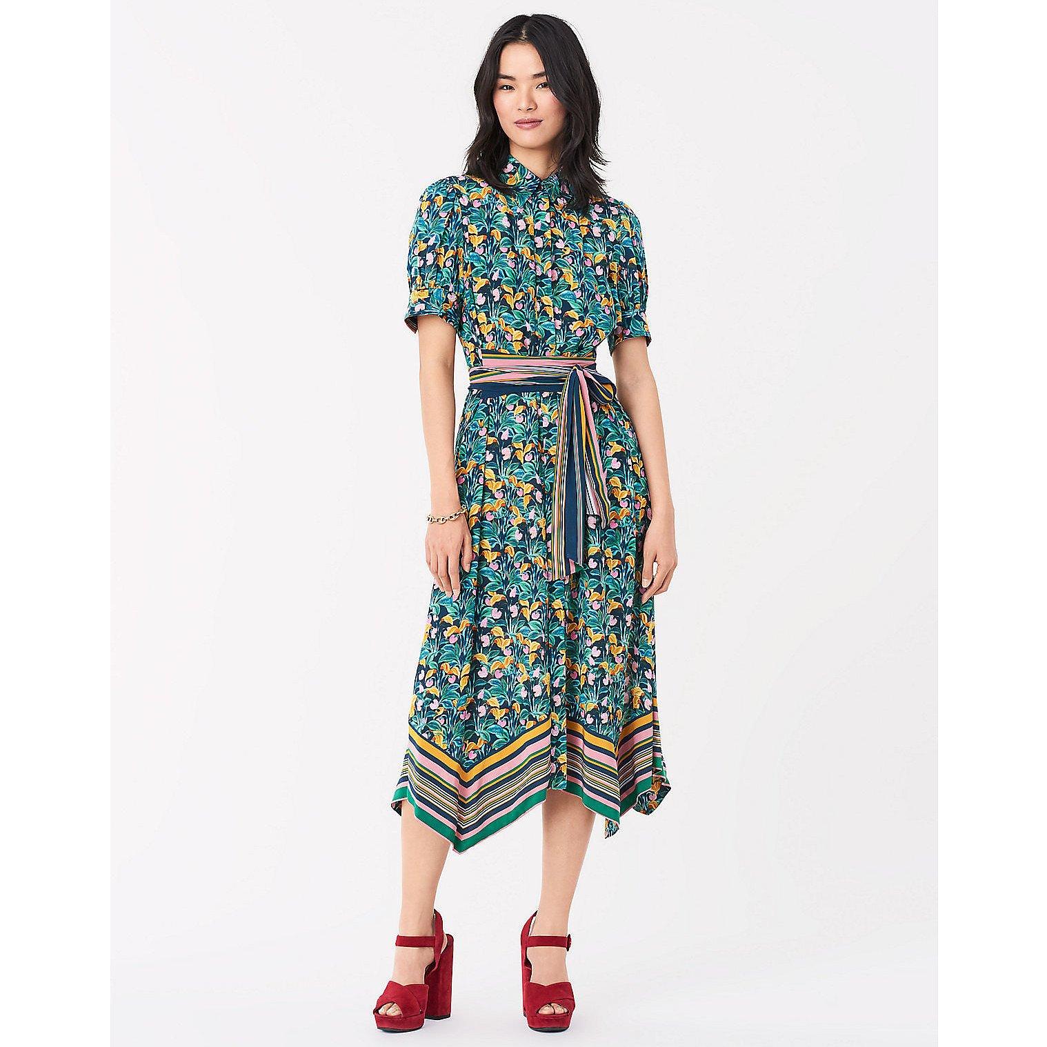 Diane von Furstenberg Kendyl Belted Midi Dress