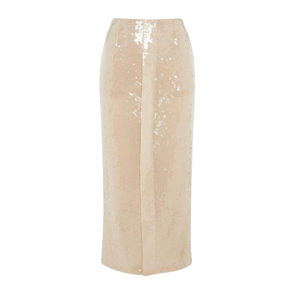 Roland Mouret Nobel Sequin Tulle Midi Skirt