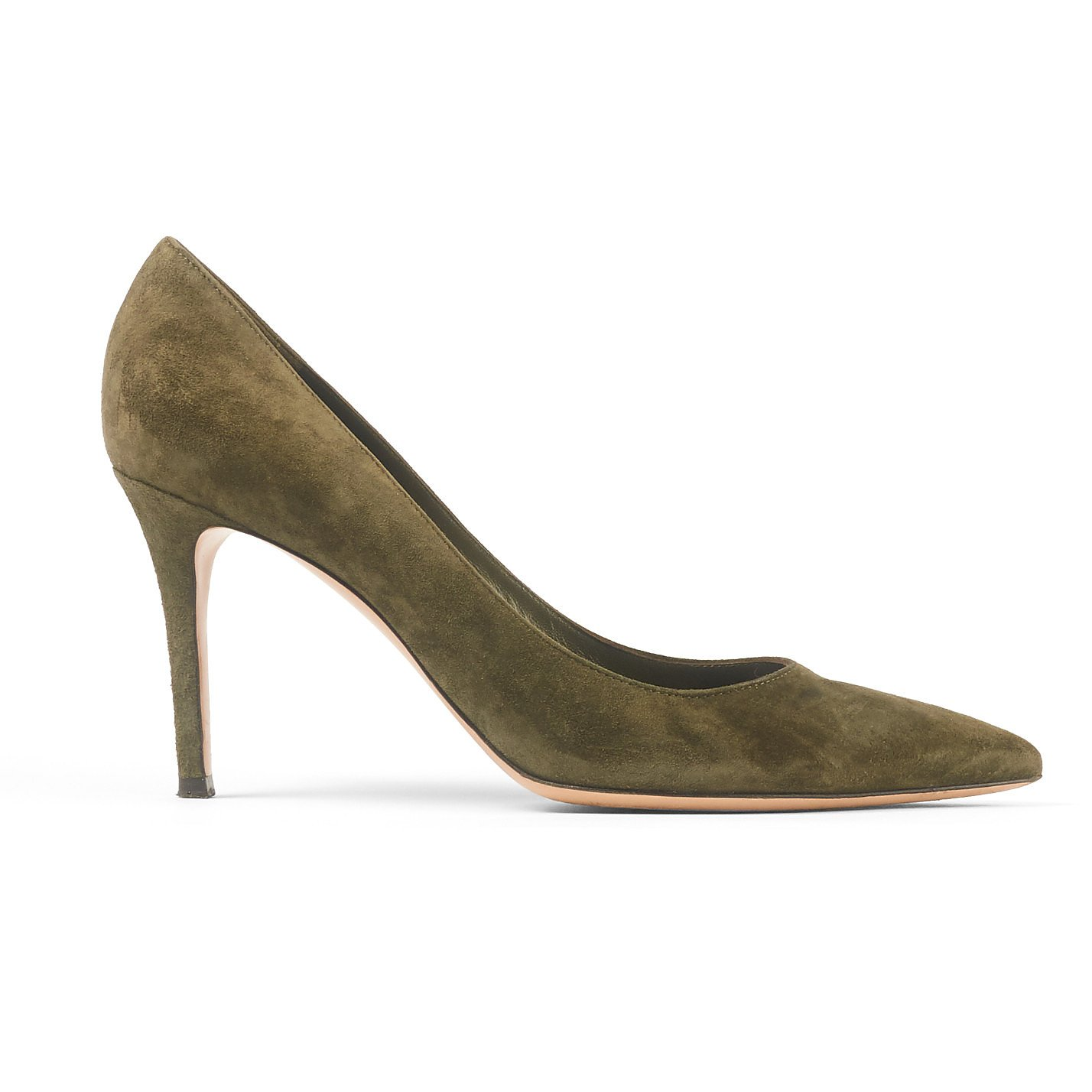 GIANVITO ROSSI Suede Stiletto Heels
