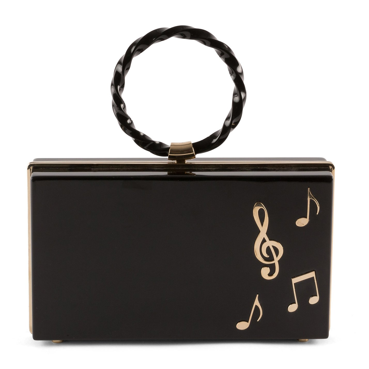 Charlotte Olympia Music Note Clutch