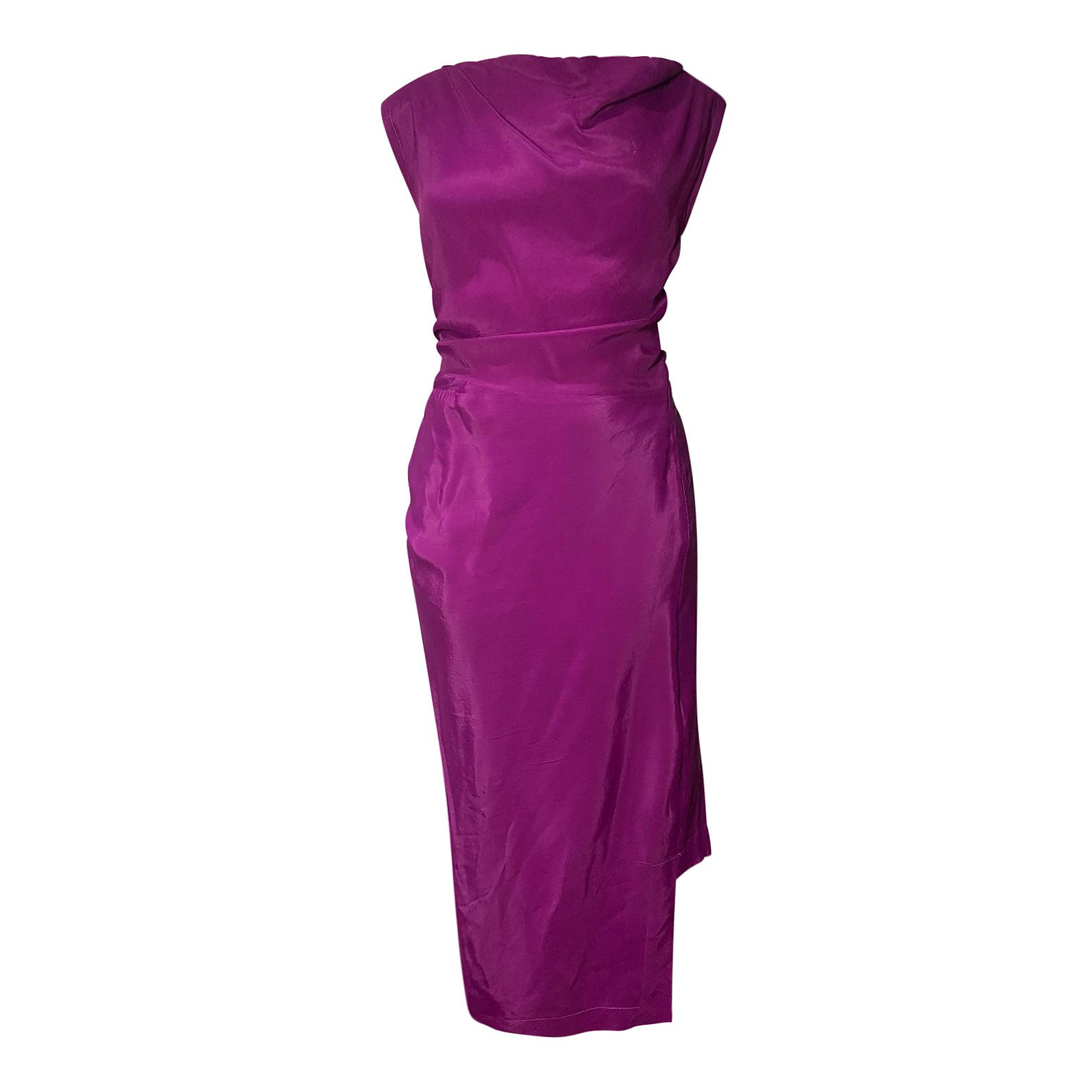 Vivienne Westwood Sleeveless Satin Dress