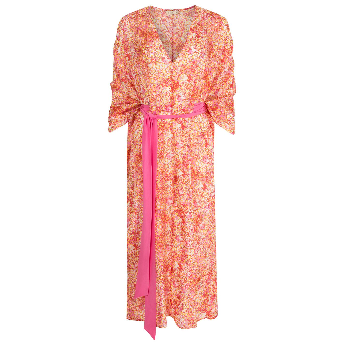 Dhela Printed Kaftan Dress