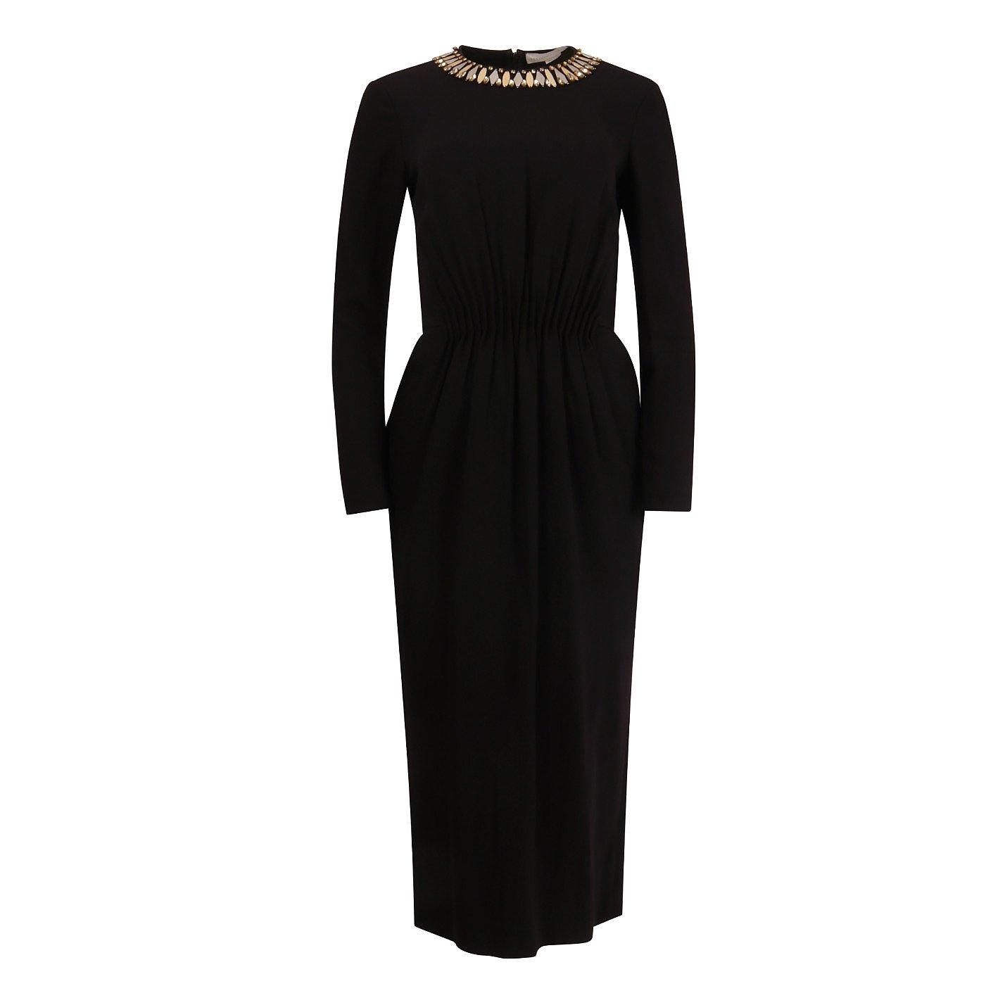 Stella McCartney Ely Embellished Midi Dress