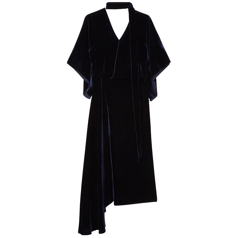 Roland Mouret Meyers Velvet Dress