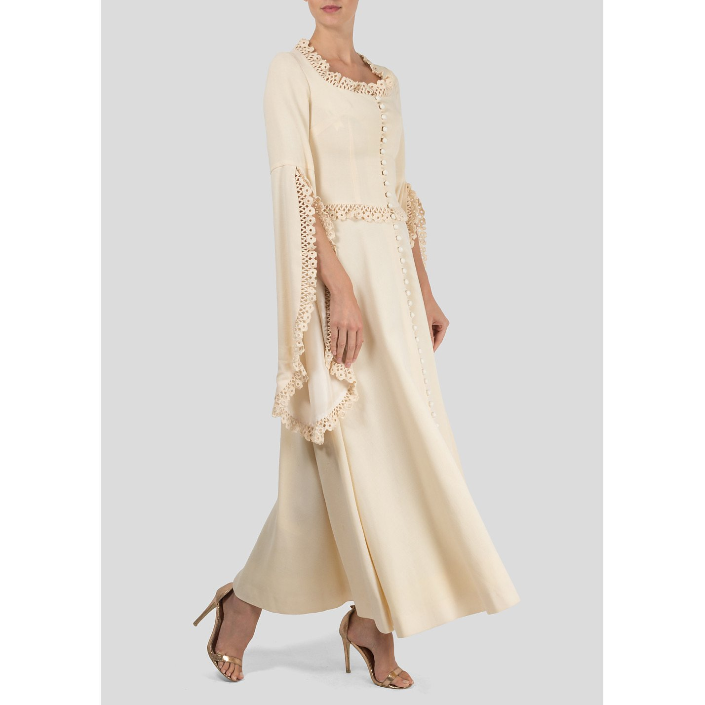 Annacat Button-Up Dress