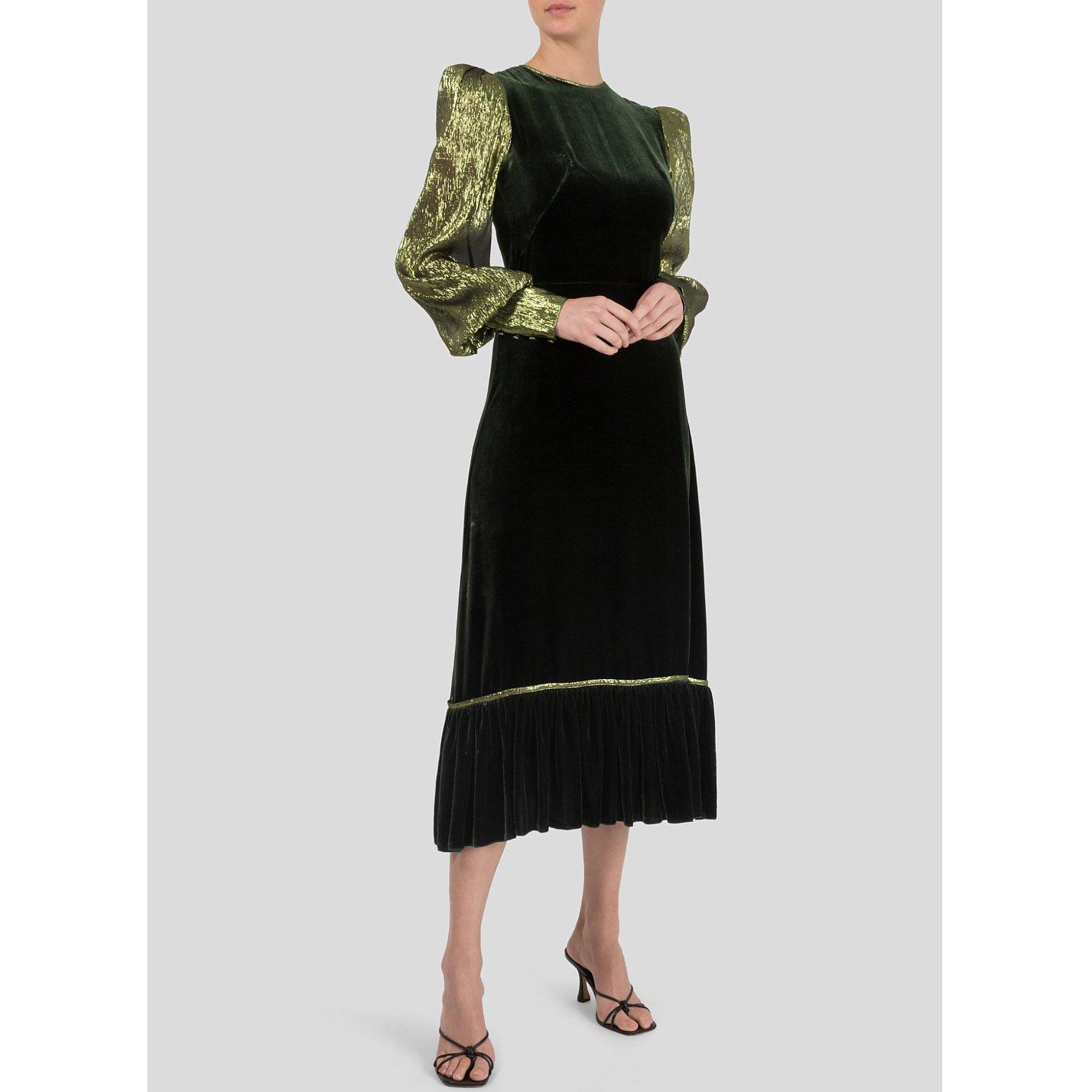 The Vampire's Wife Velvet Tea Dress