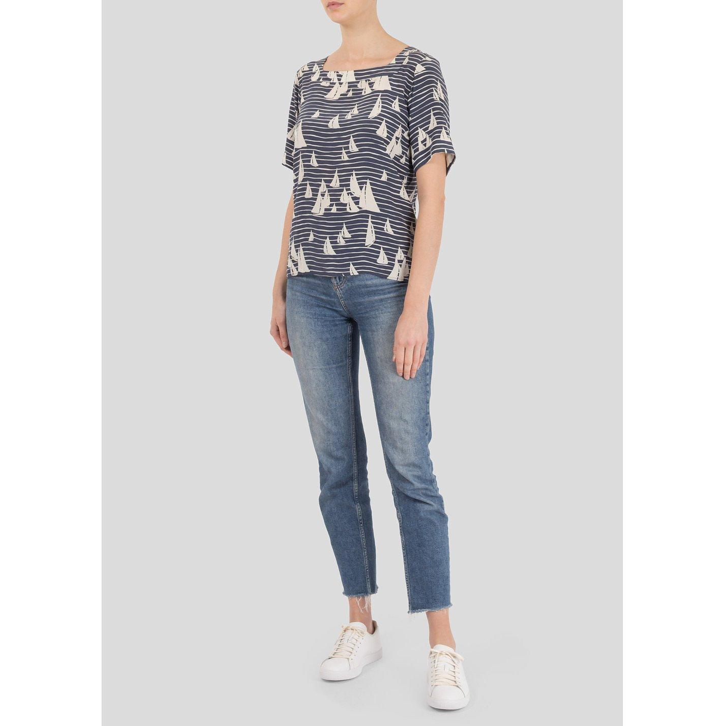 Yves Saint Laurent Printed Silk Shirt