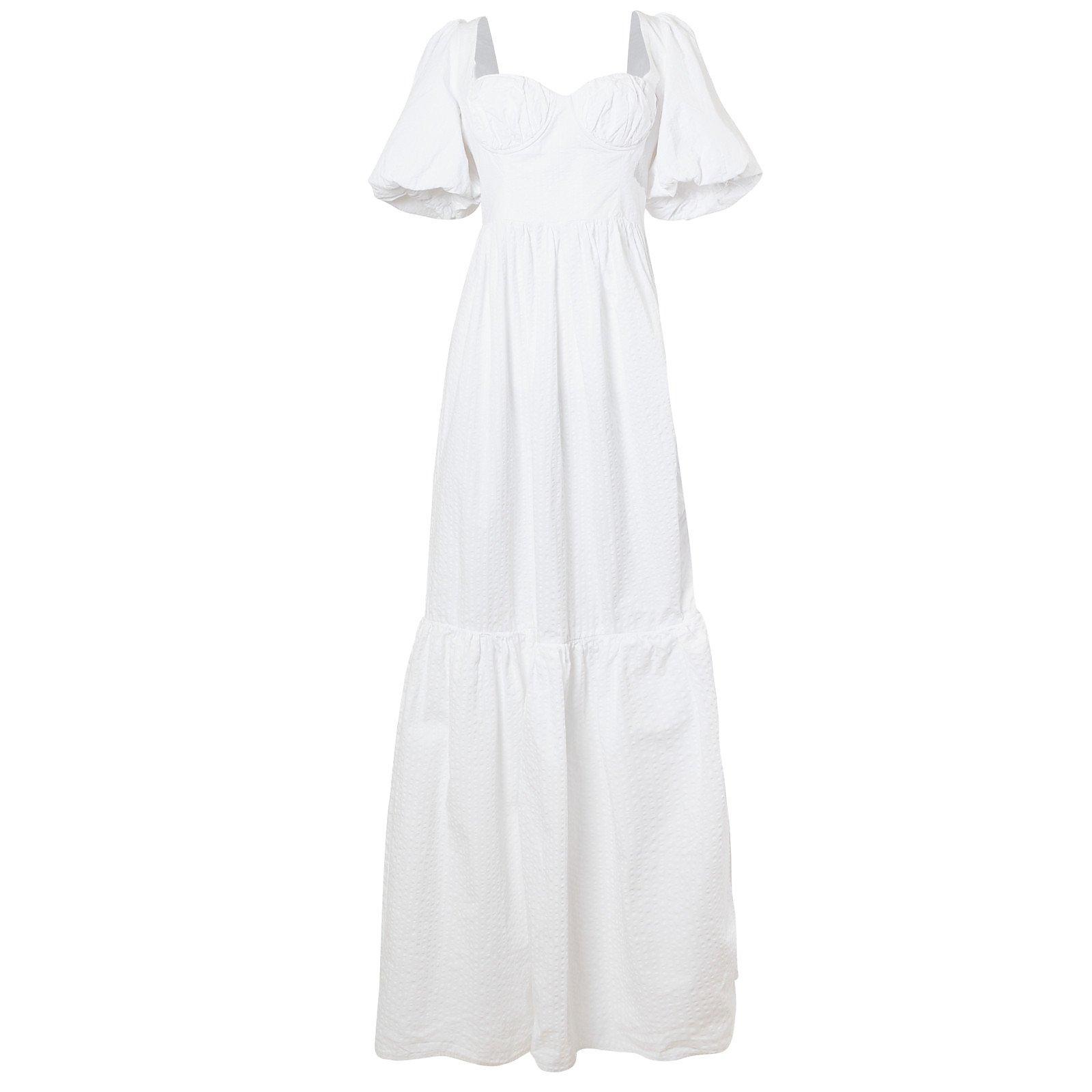 Maison Bent Corset Bodice Gown