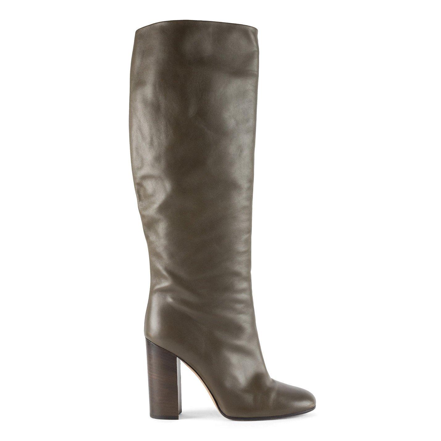 Bally Knee-High Heeled Boots