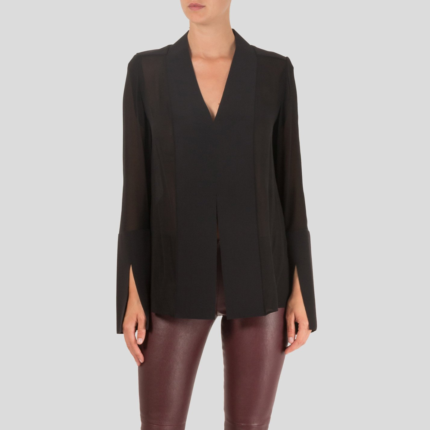 Dion Lee Sheer Panelled Blouse