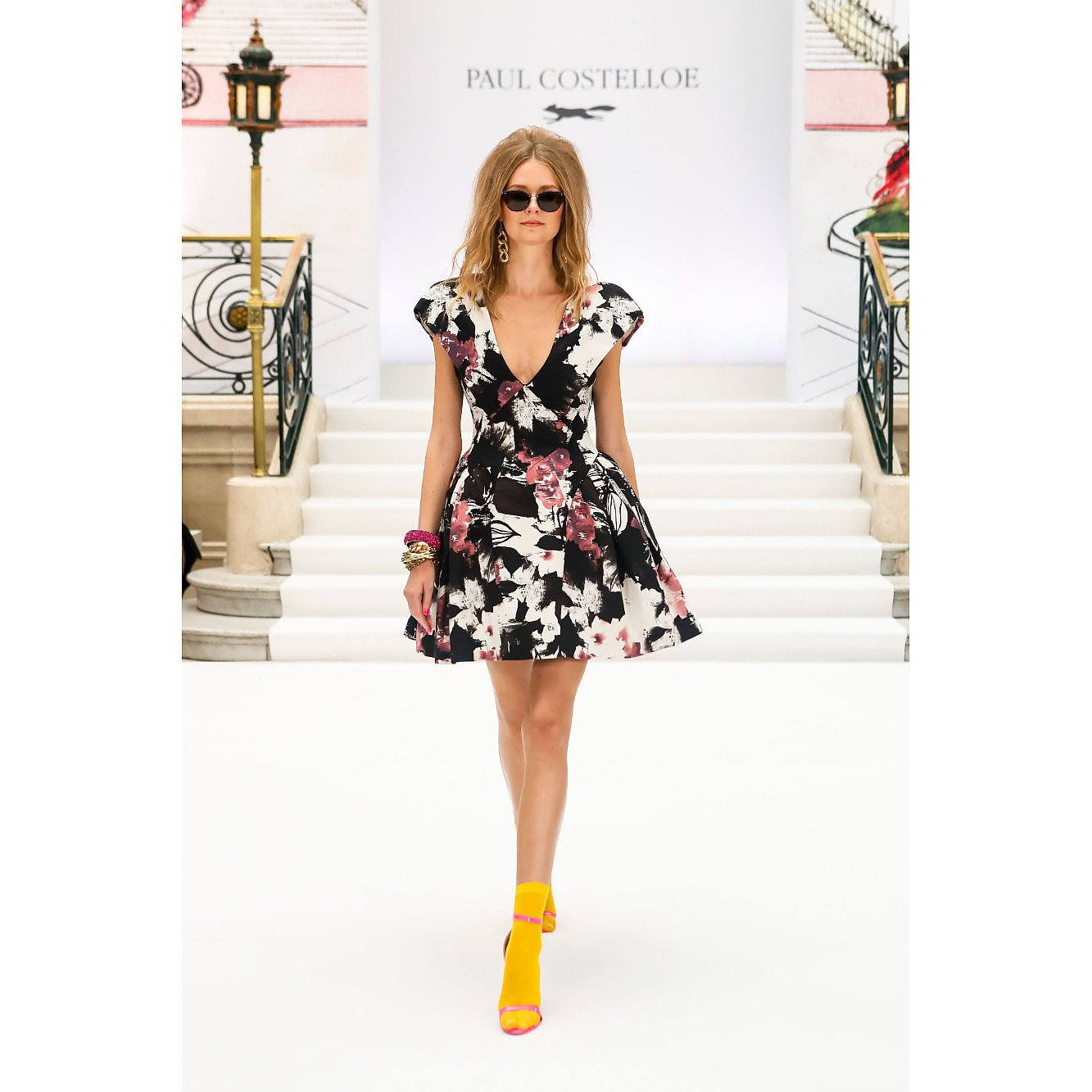 Paul Costelloe Mini Flower Dress