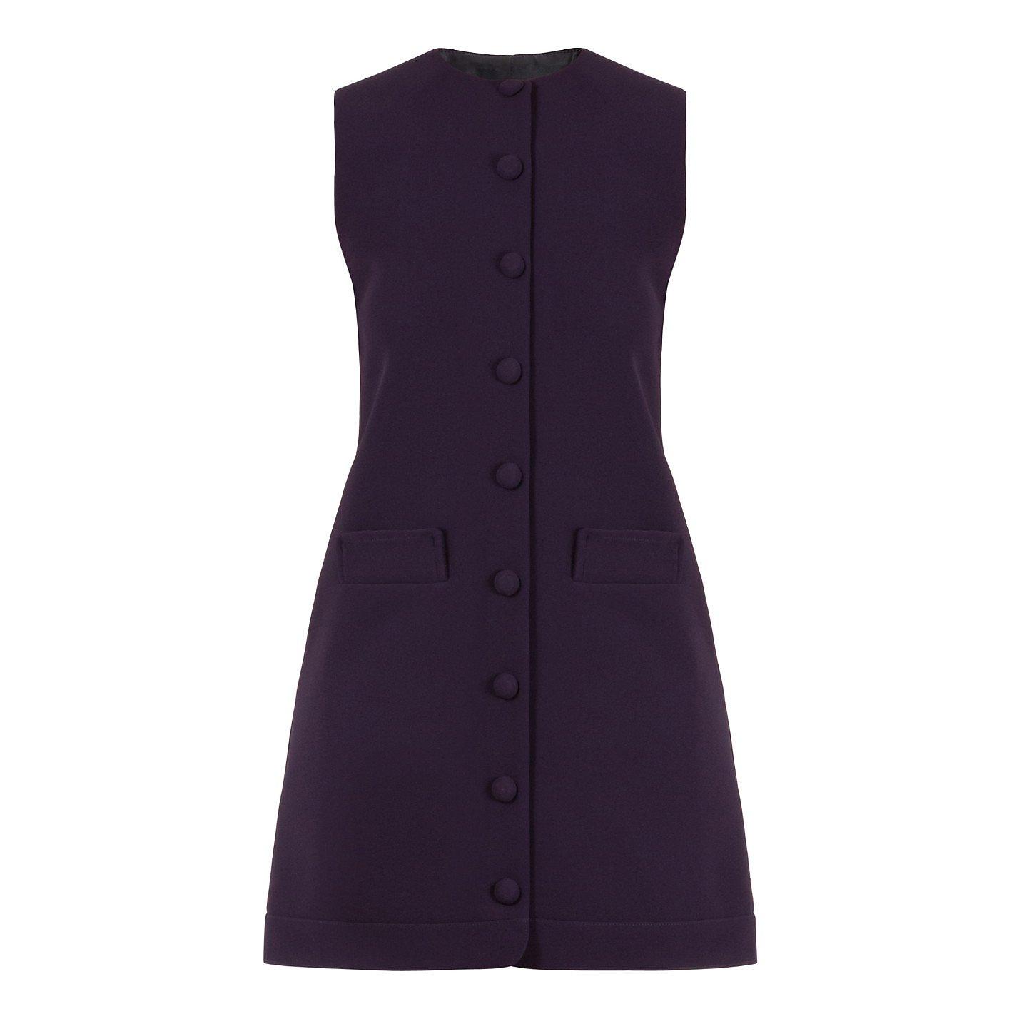 Carven Waistcoat Dress