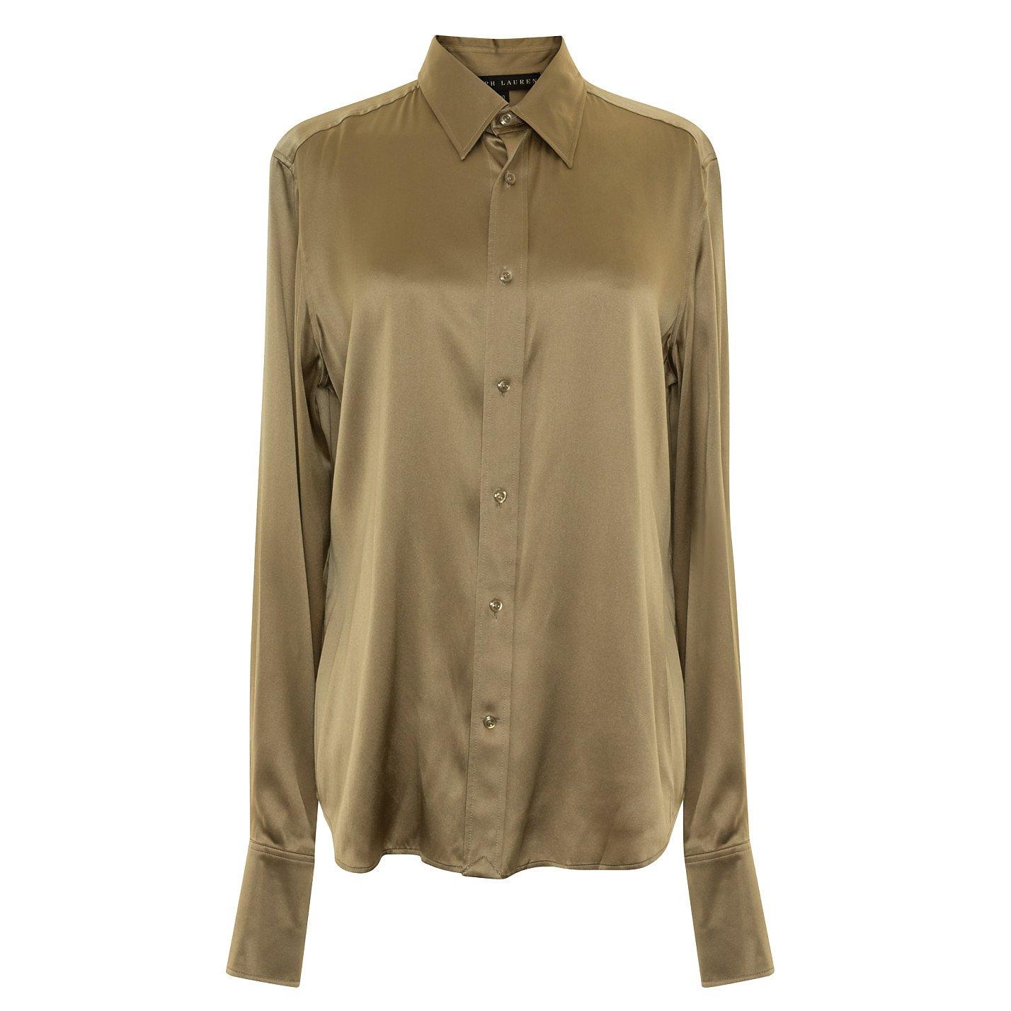 Ralph Lauren Satin Shirt