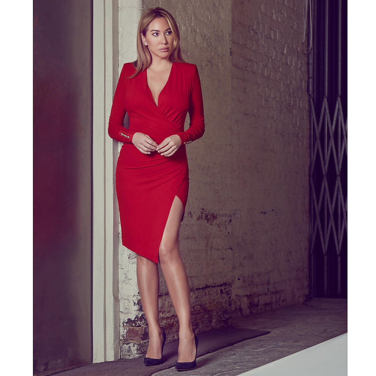Alexandre Vauthier Ruched Stretch-Jersey Dress