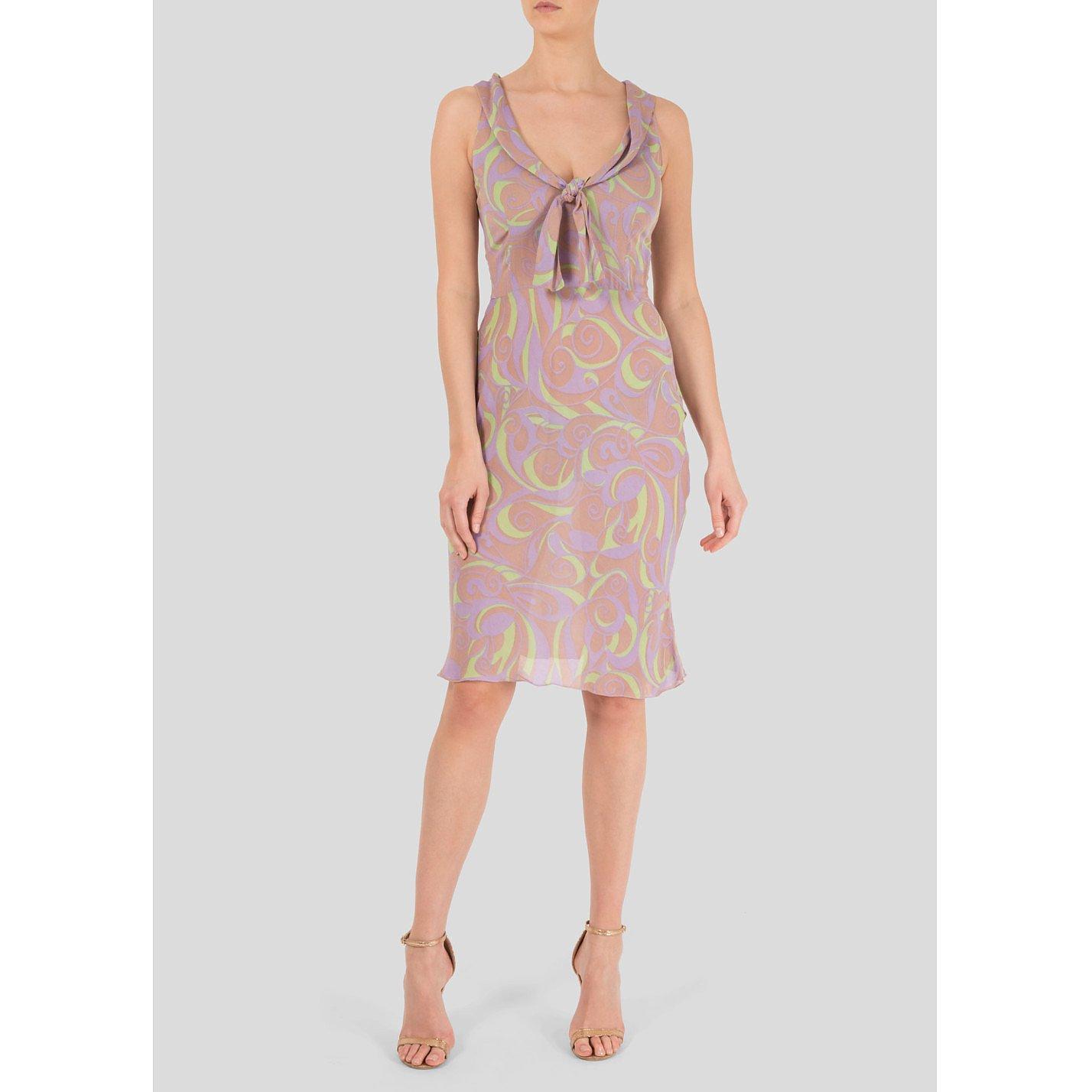 Miu Miu Swirl Print Dress