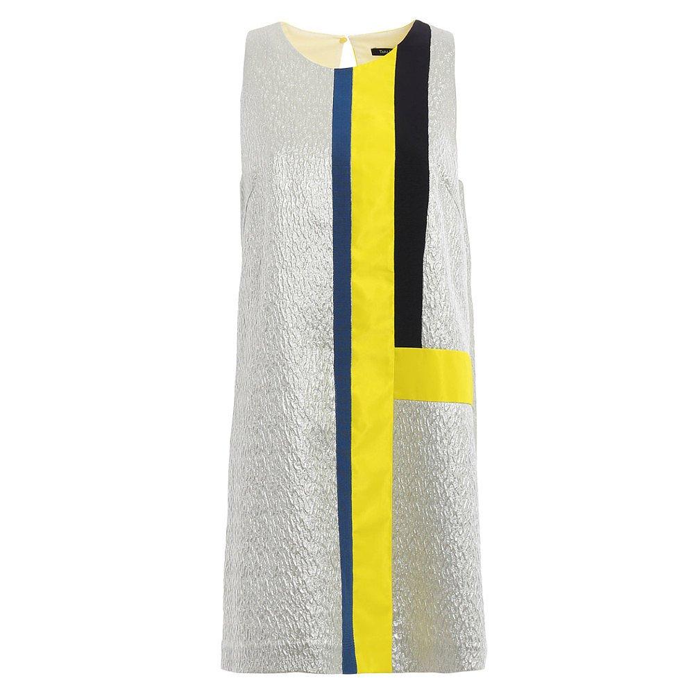 Tara Jarmon Embossed Mini Shift Dress