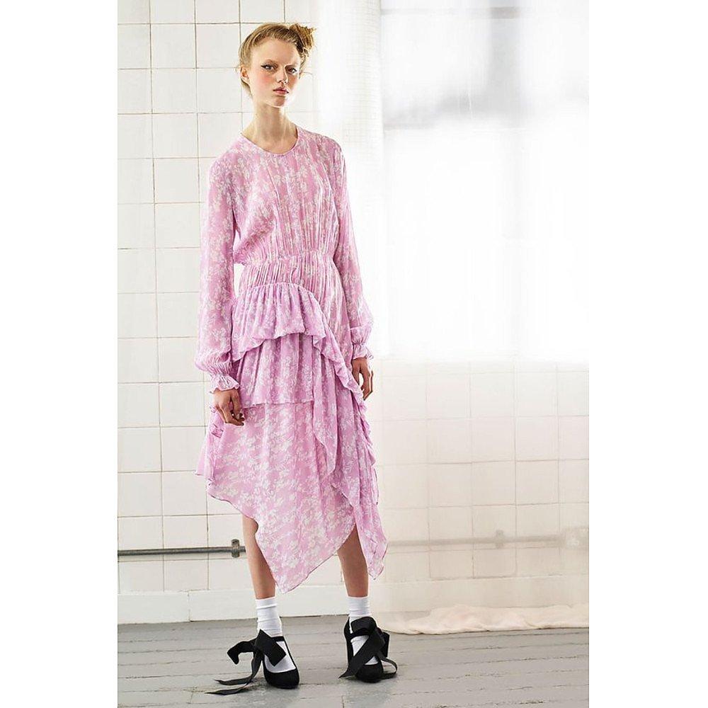 Preen Line Eden Ruffled Floral Print Dress