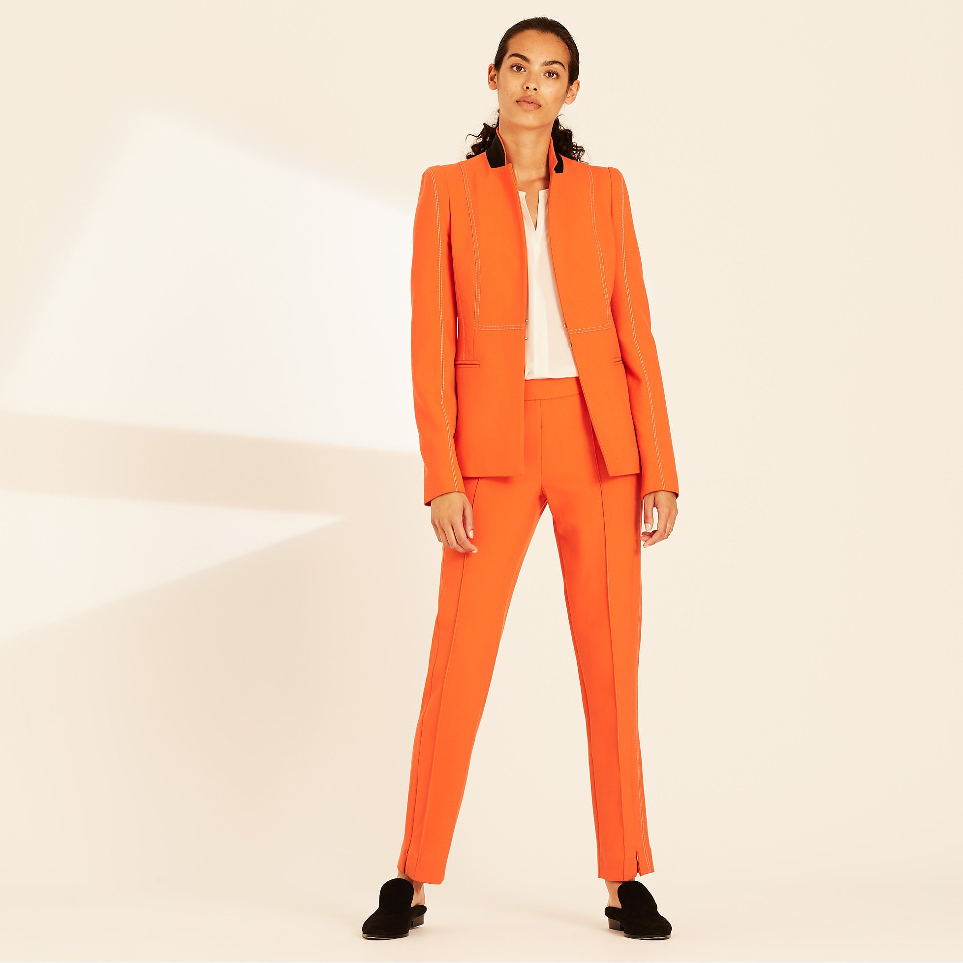 Amanda Wakeley Fitted Jacket with Sculpted Tailoring
