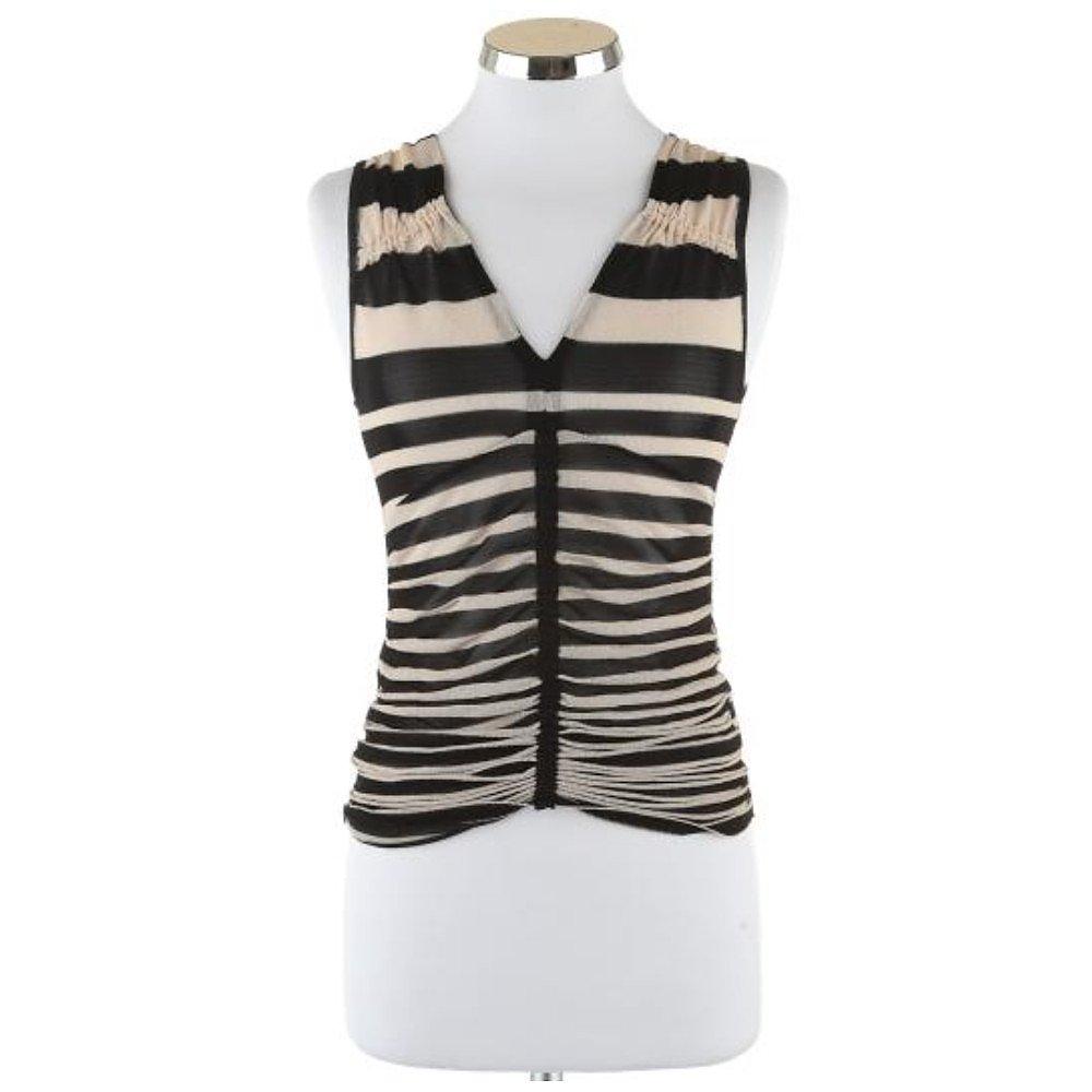Anna Molinari Striped Vest Top