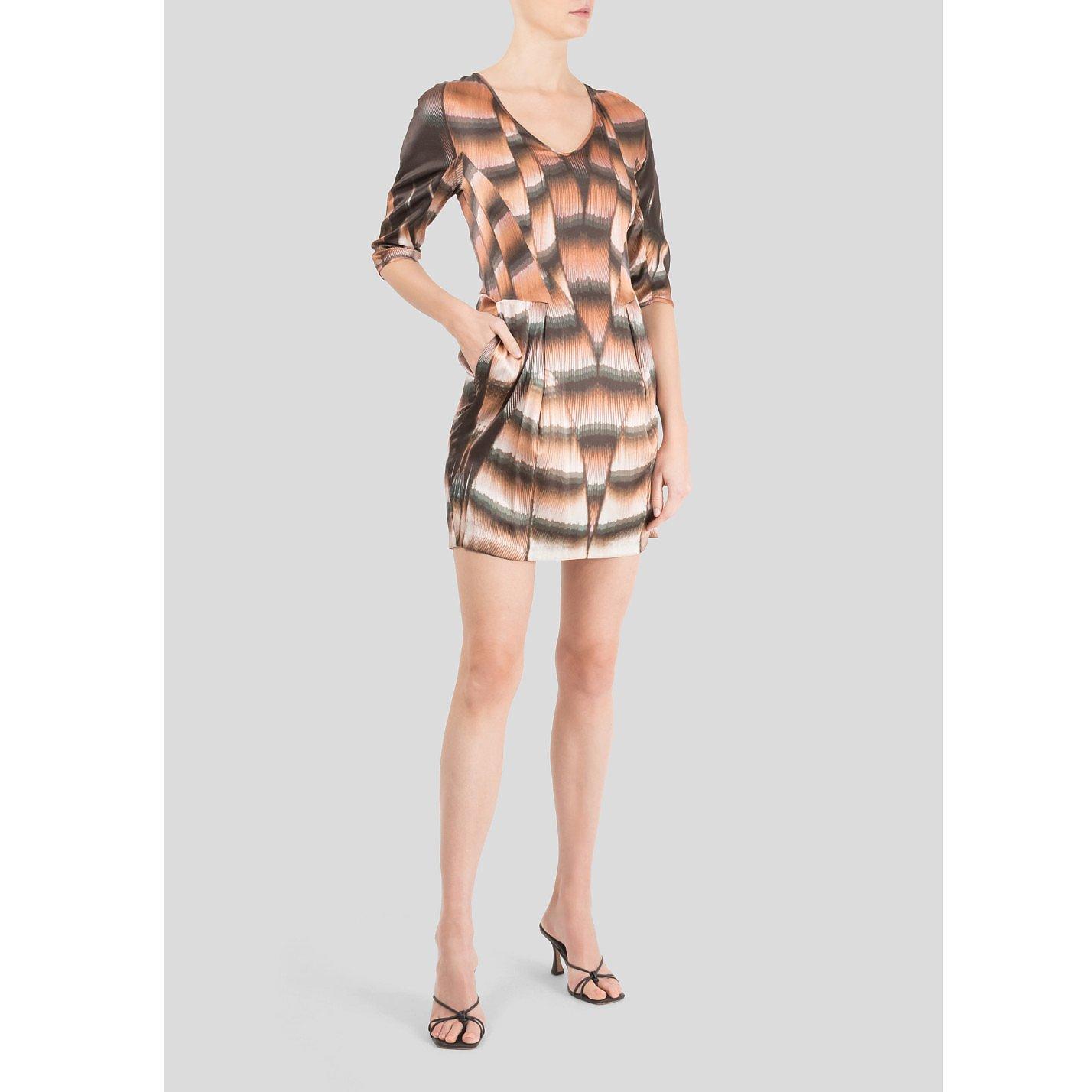 freda Striped Dress