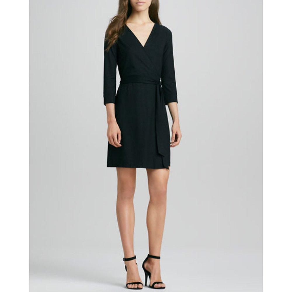 Diane von Furstenberg New Julian Two Mini Wrap Dress