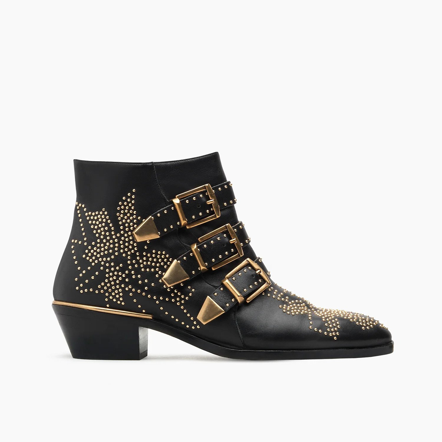Chloé Susanna Boots with Gold Detail