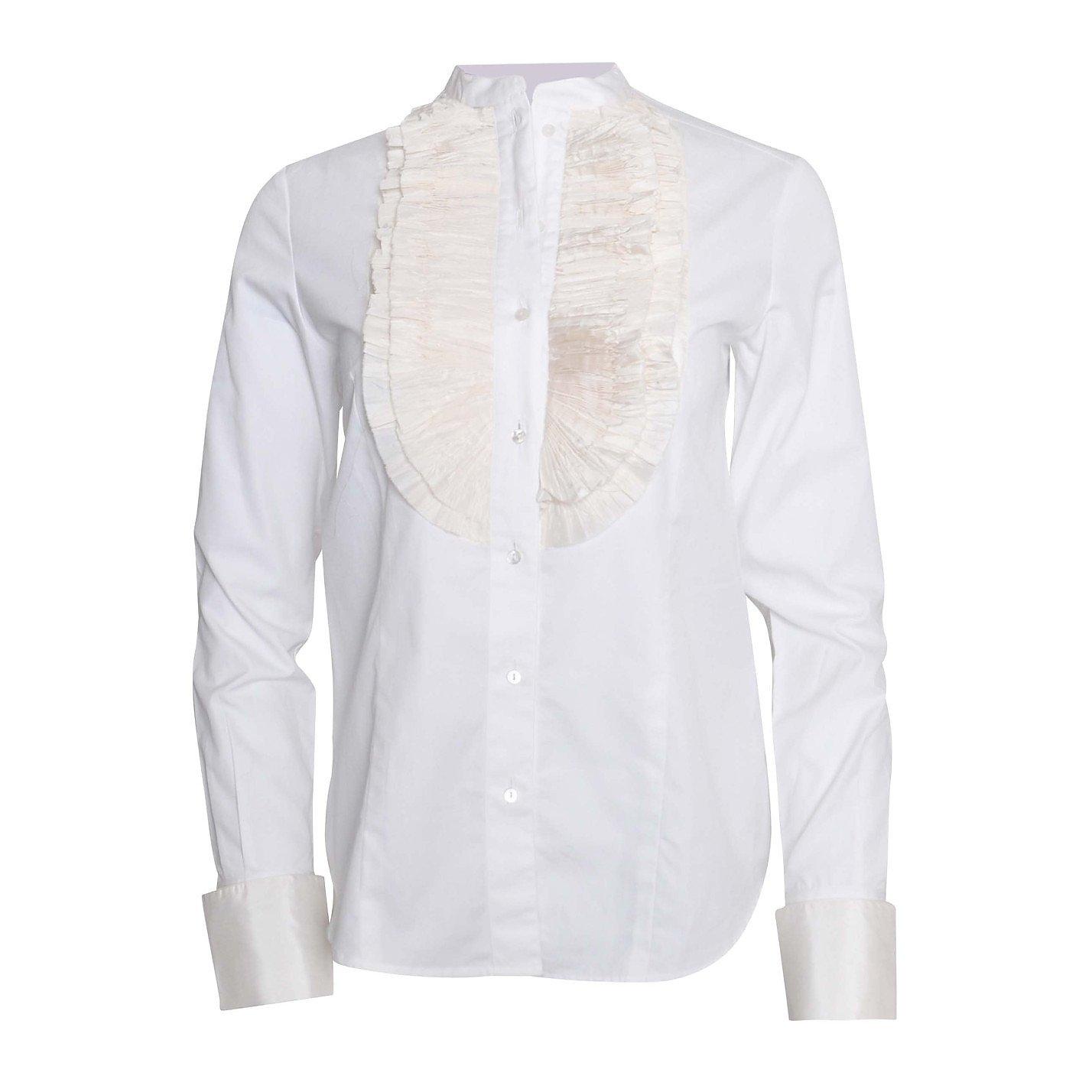 Bamford Ruffle-Bib Shirt