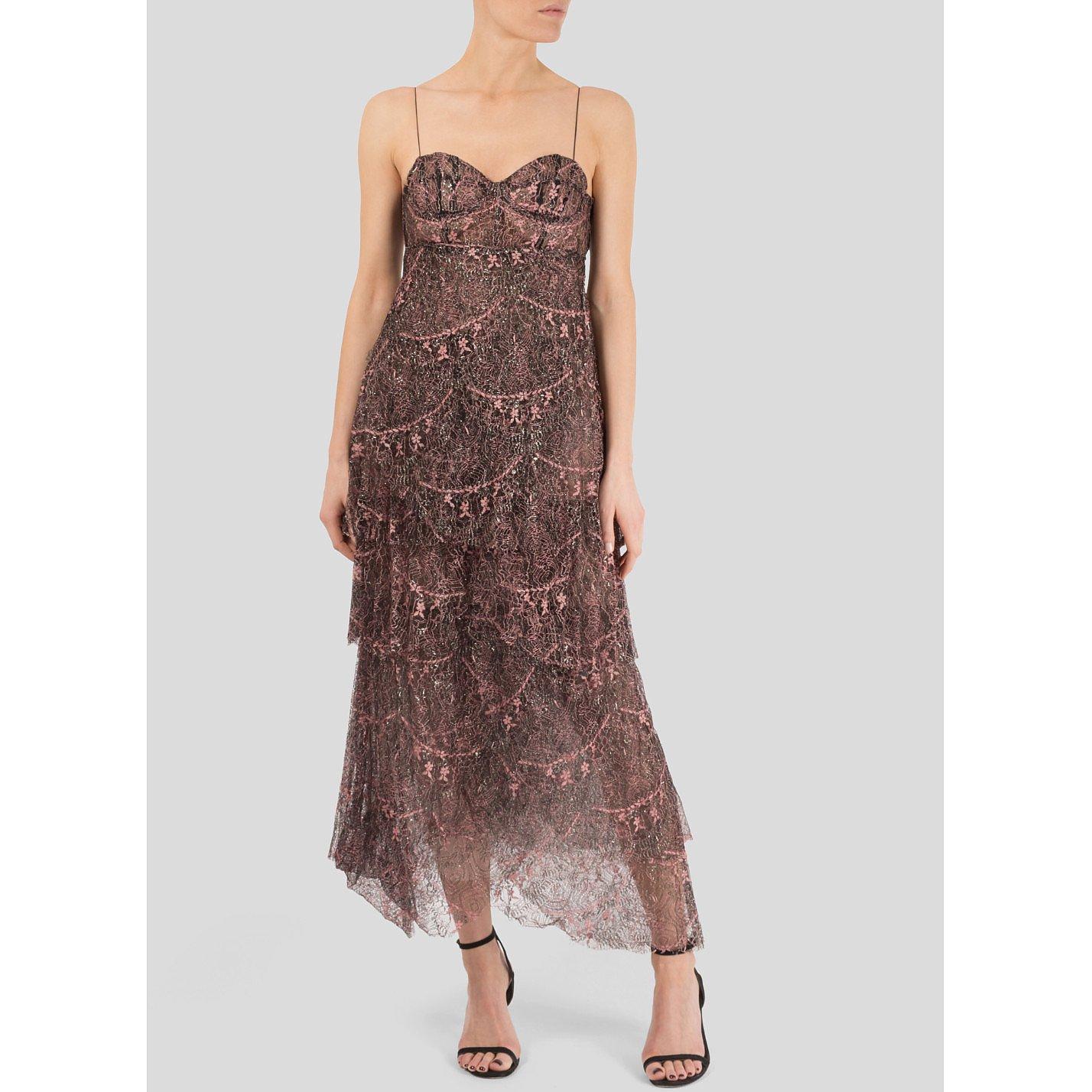 Sharon Wauchob Lace Bustier Dress