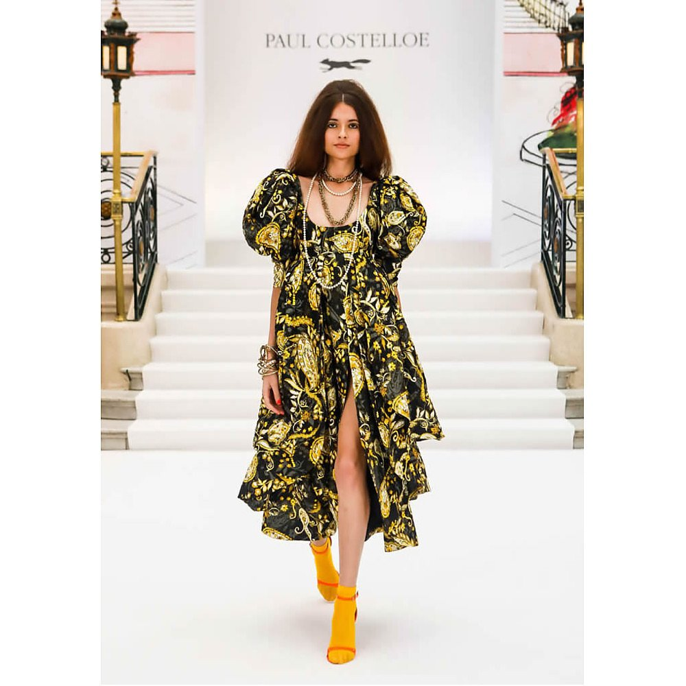 Paul Costelloe Paisley Printed Midi Dress