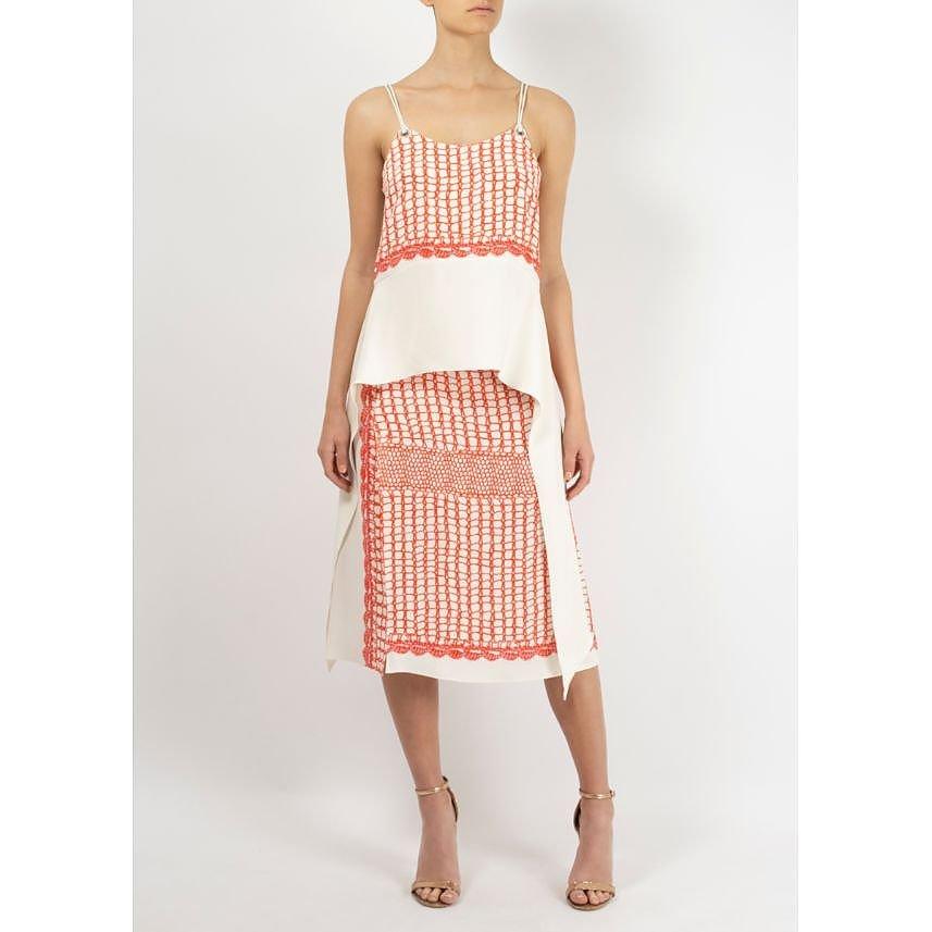 Pringle A Line Print Skirt
